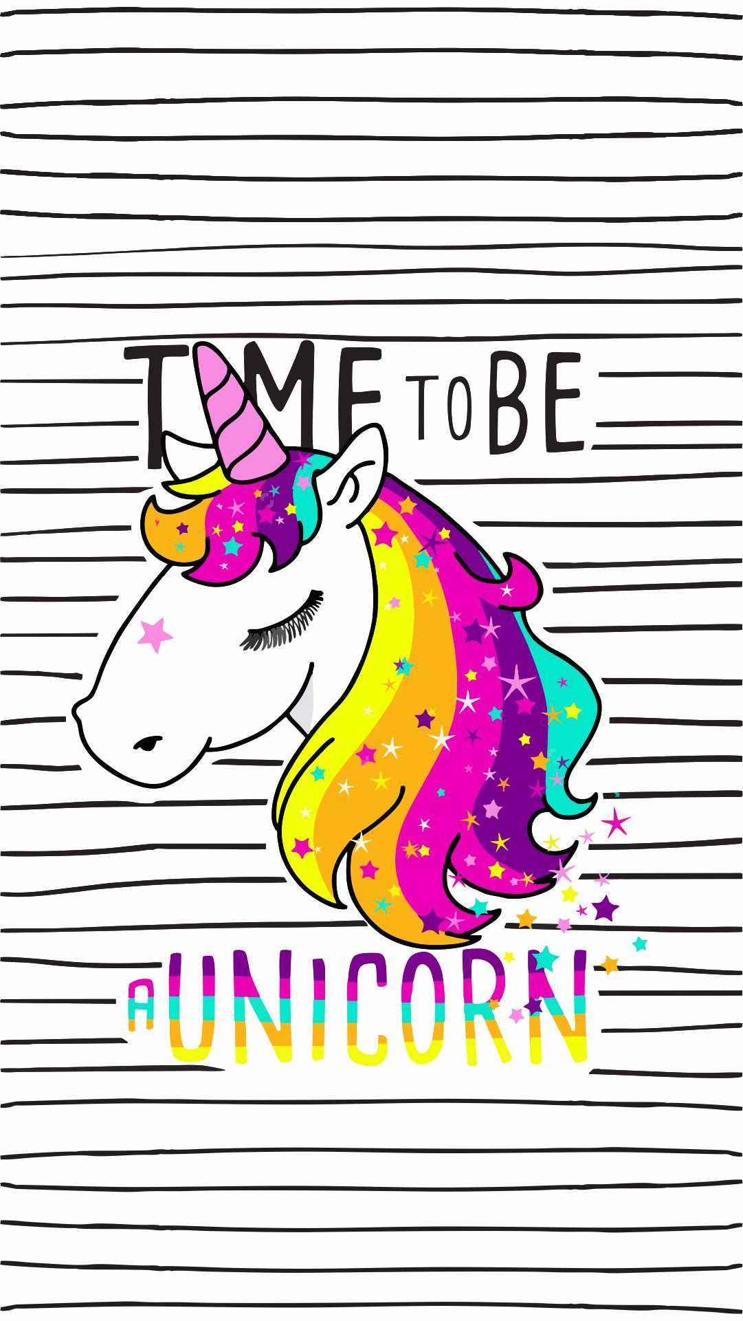 1081x1921 Time to be unicorn