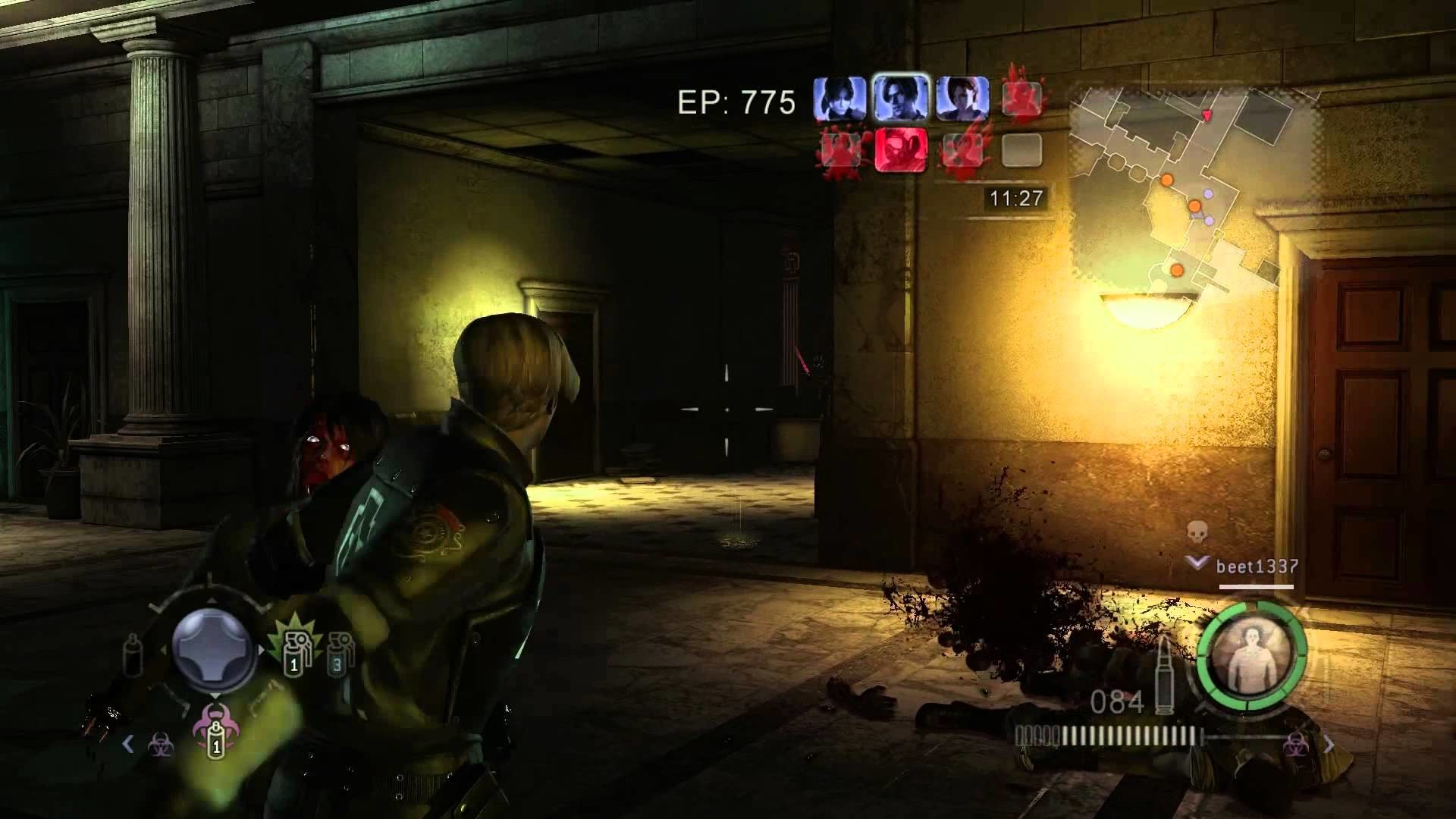 1920x1080 Resident Evil Operation Raccoon City Online versus/heroes gameplay Leon S.  Kennedy PC 1080p HD - YouTube