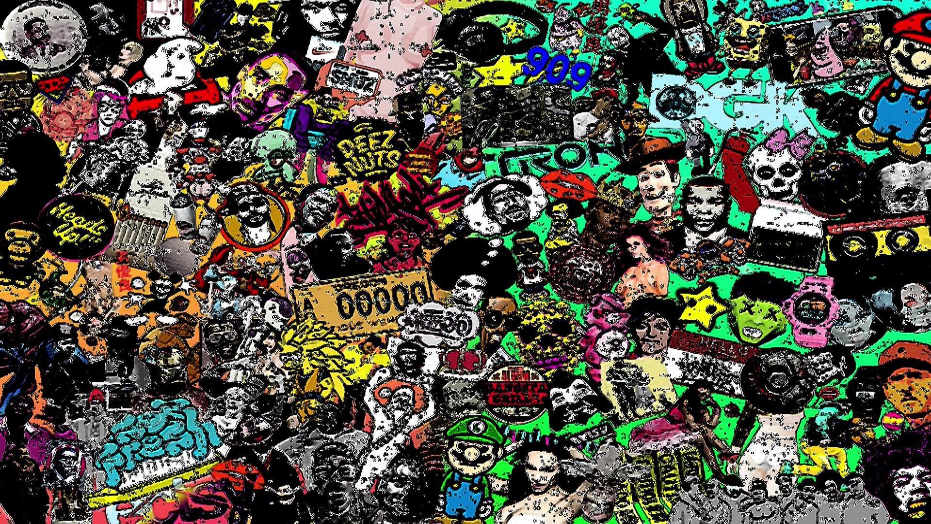 1920x1080 Hip Hop Graffiti Wallpaper