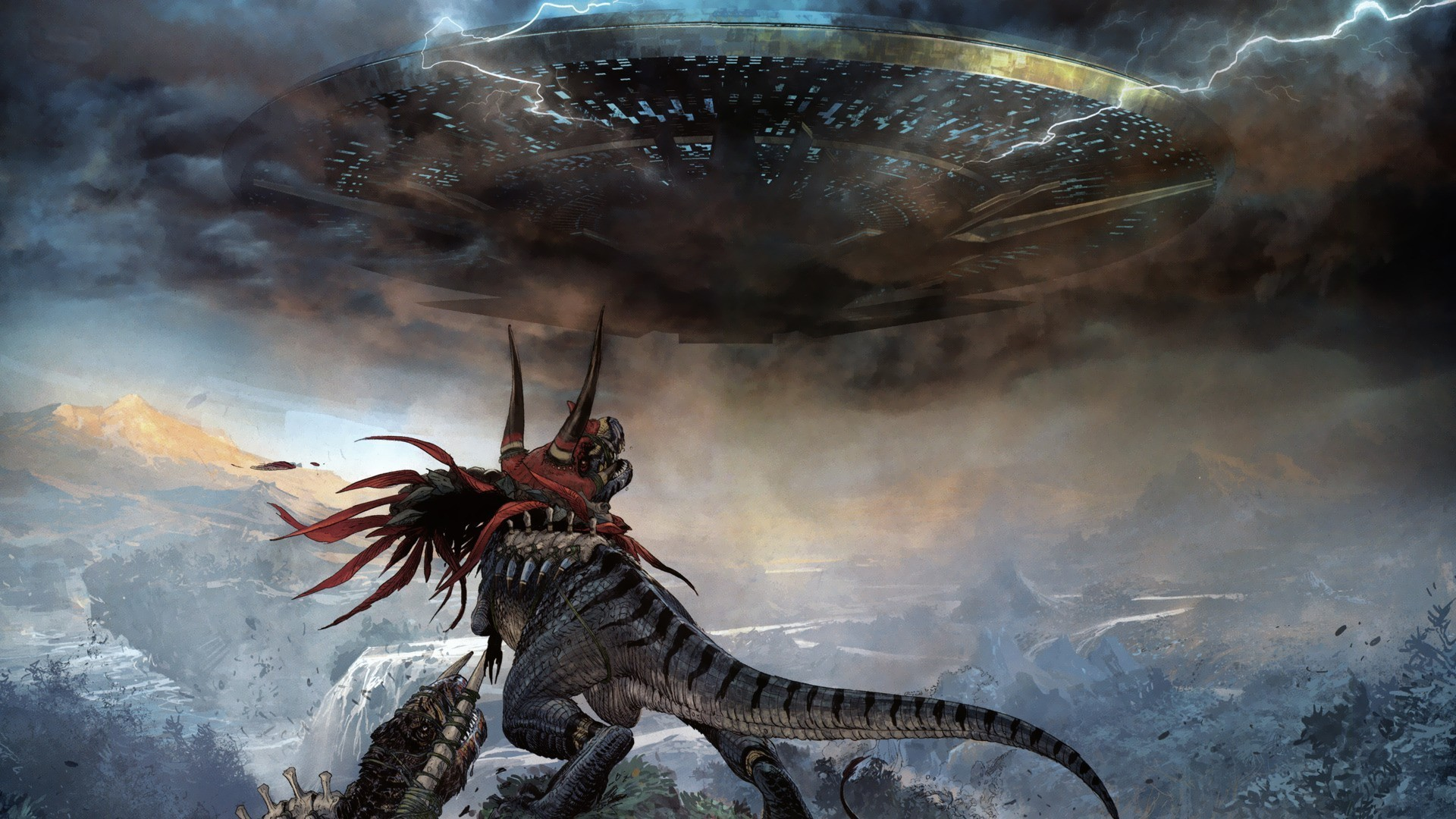 Epic Monster Wallpapers Fantasy Science Fiction Concept Art