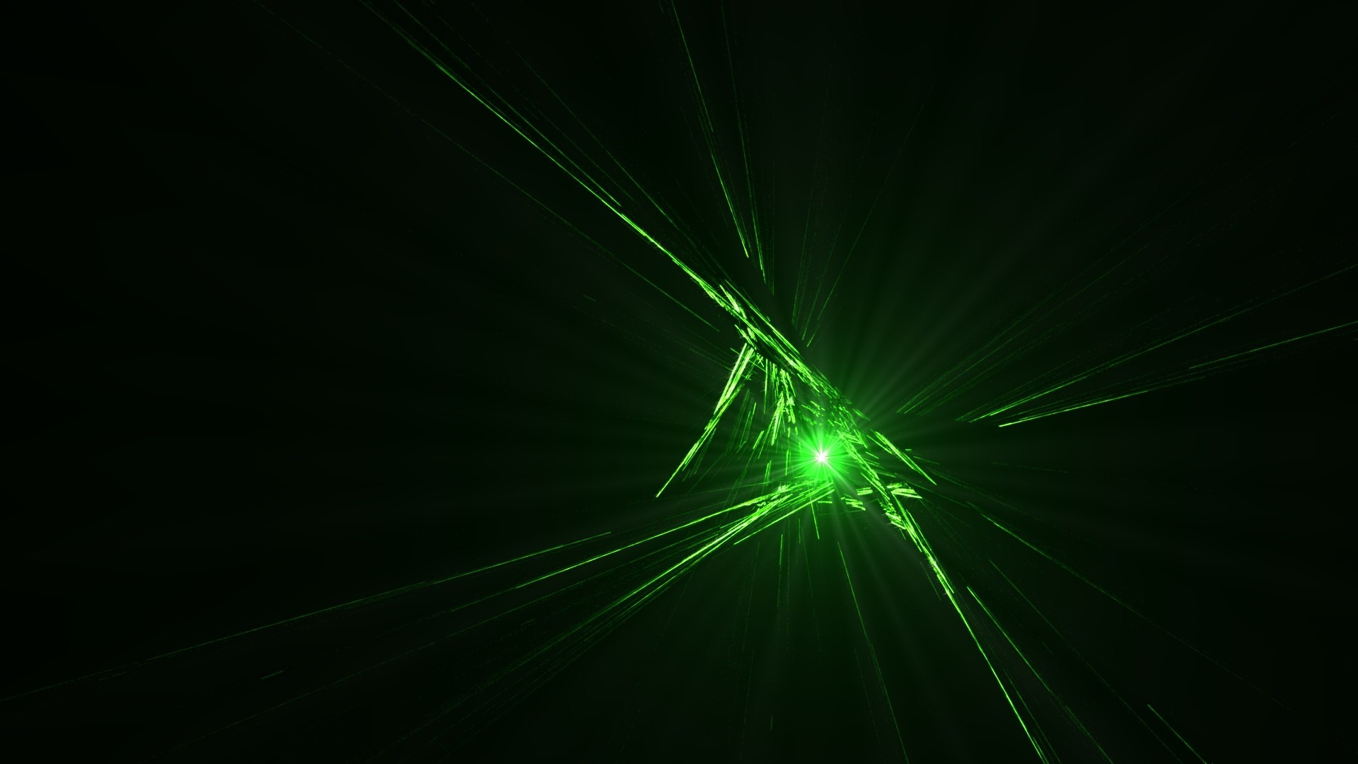 1920x1080 abstract, CGI, Green, Black, Beam Wallpapers HD / Desktop and Mobile  Backgrounds