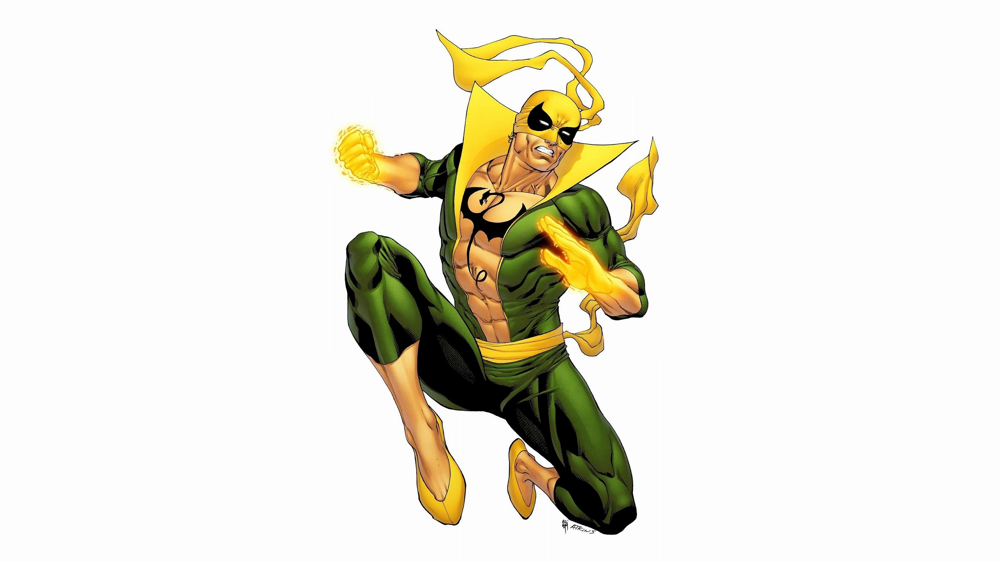 3450x1940 Awesome iron fist