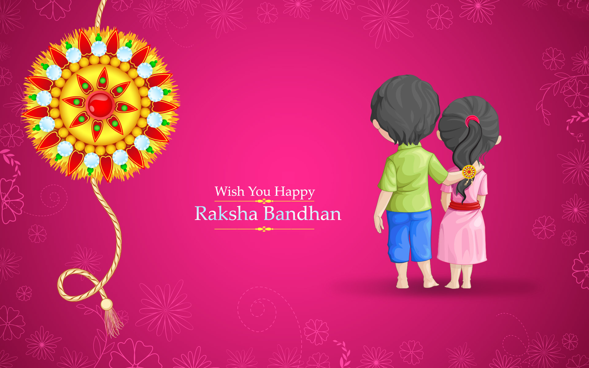 1920x1200 We offer special Raksha Bandhan Gifts for sisters, Rakhi gifts are the best  way to