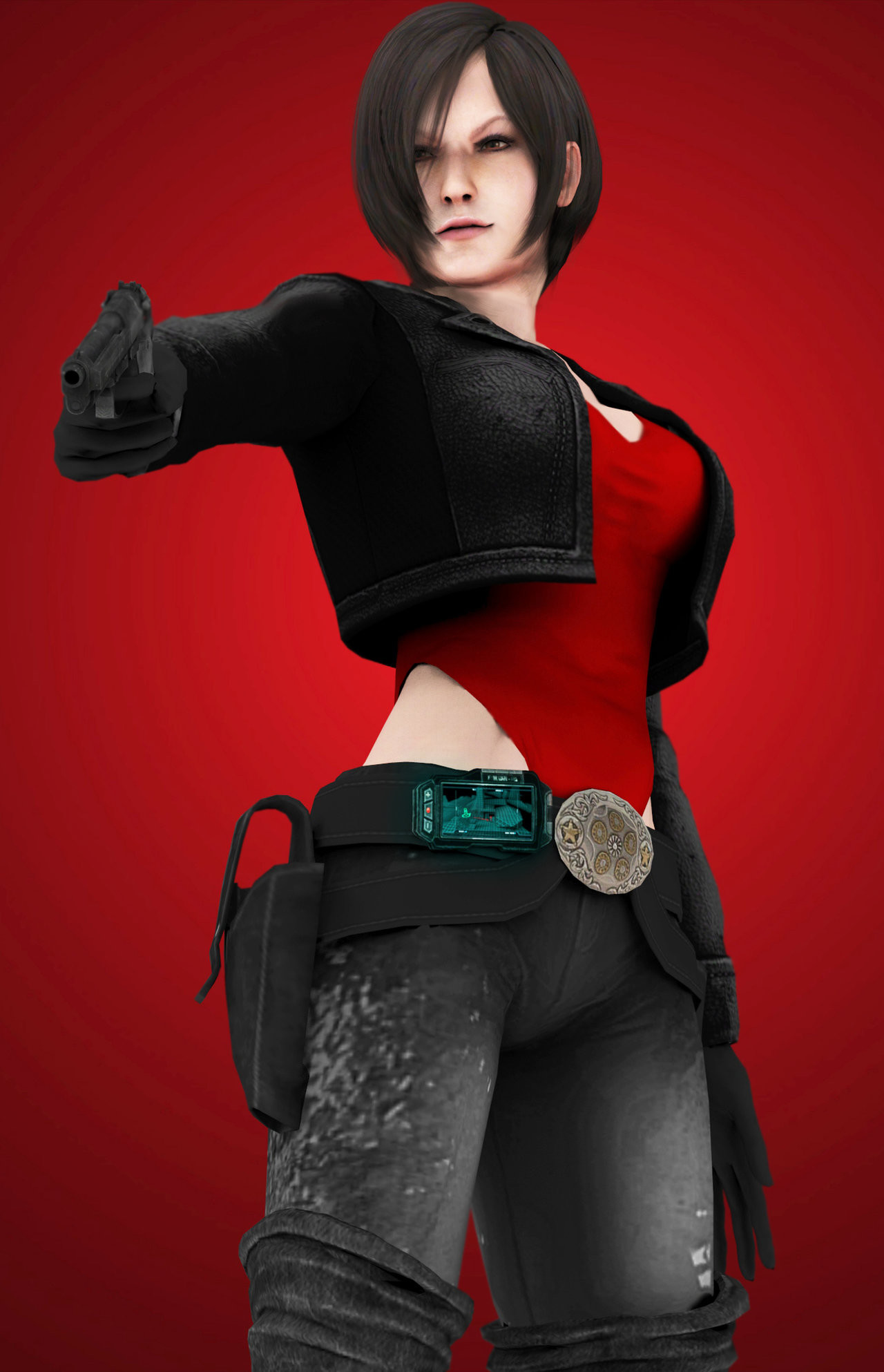 1280x1986 walienn 22 3 ada wong - finish him by walienn