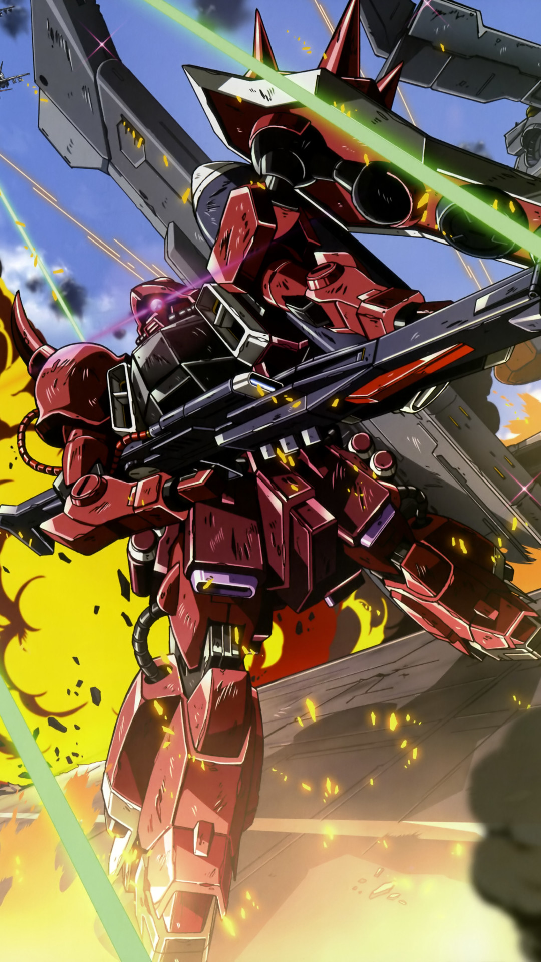 1080x1920 Anime / Mobile Suit Gundam Seed Destiny () Mobile Wallpaper