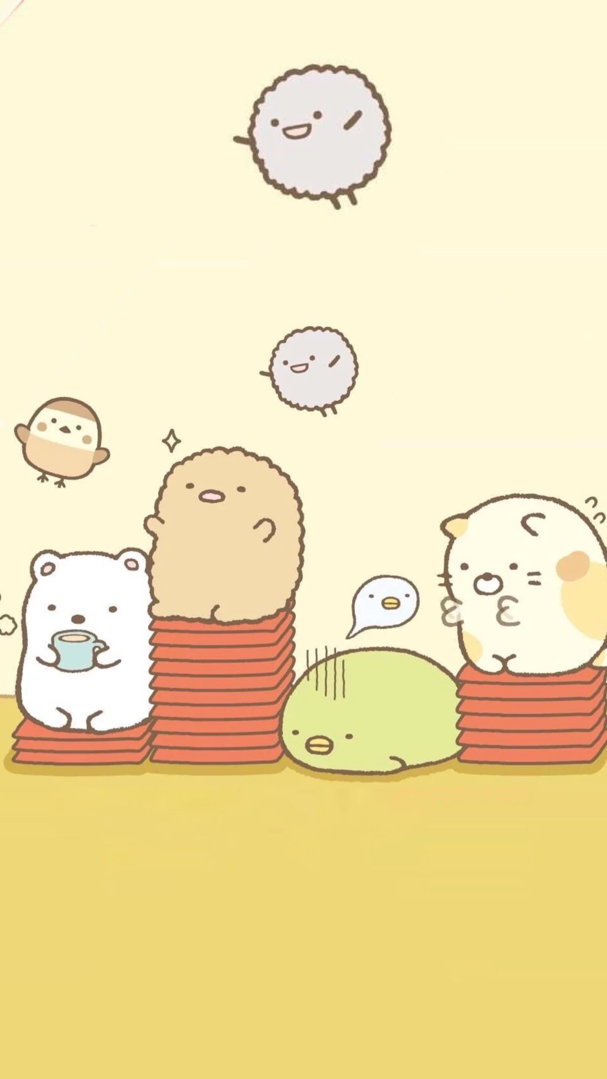 1200x2133 Sumikko gurashi phone wallpaper