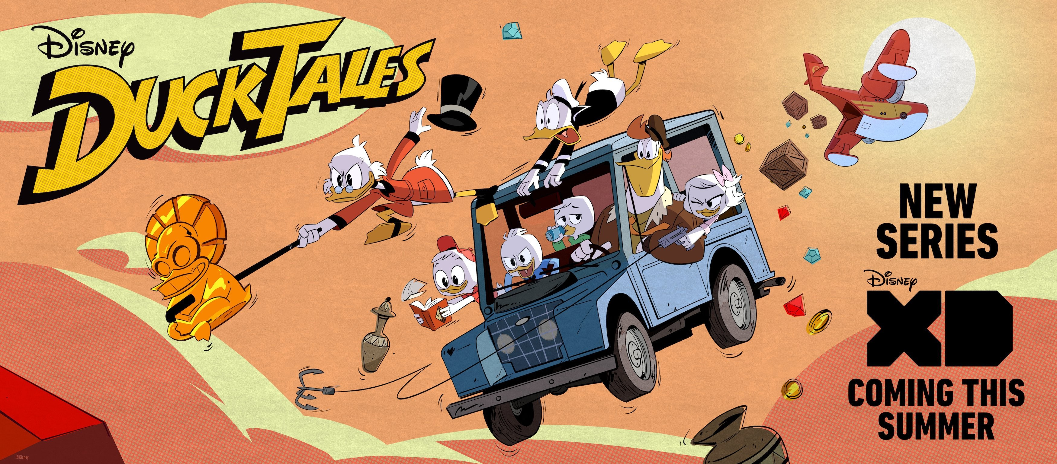 Ducktales 2017 Wallpaper