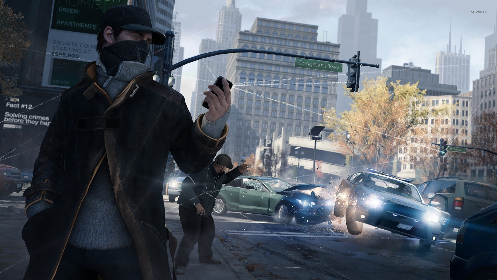 1920x1080 Aiden Pearce Watch Dogs wallpaper Game wallpapers 1920×1080