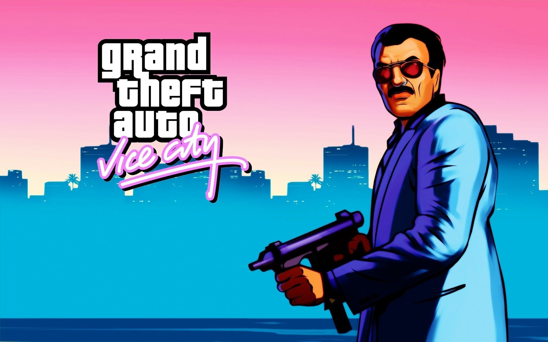 1920x1200 HD Wallpaper | Background ID:468542.  Video Game Grand Theft Auto: Vice  City