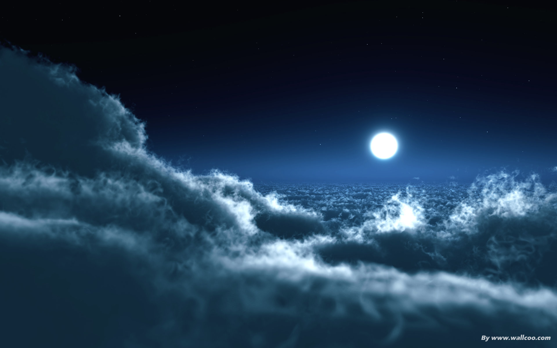 1920x1200 Animated Clouds Moon Night Nature High quality wallpapers in hd(high  definition),widescreen resolutions for desktop,mobiles and tabs absolutely  free.
