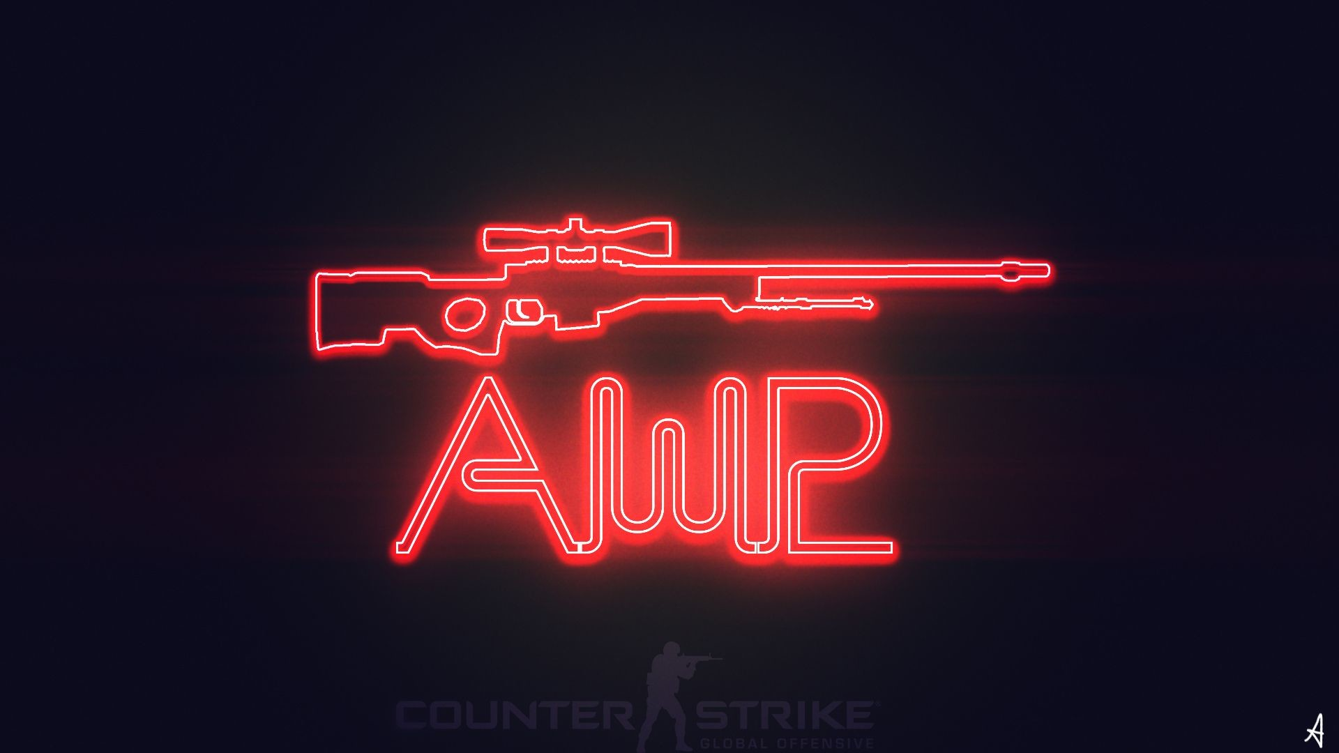 1920x1080 CS:GO AWP WALLPAPER NEON by TwilightliciousBR on DeviantArt