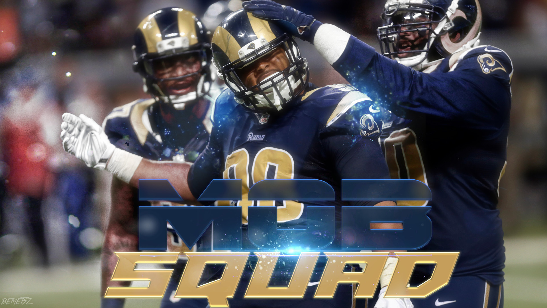 1920x1080 St. Louis Rams Mob Squad Wallpaper