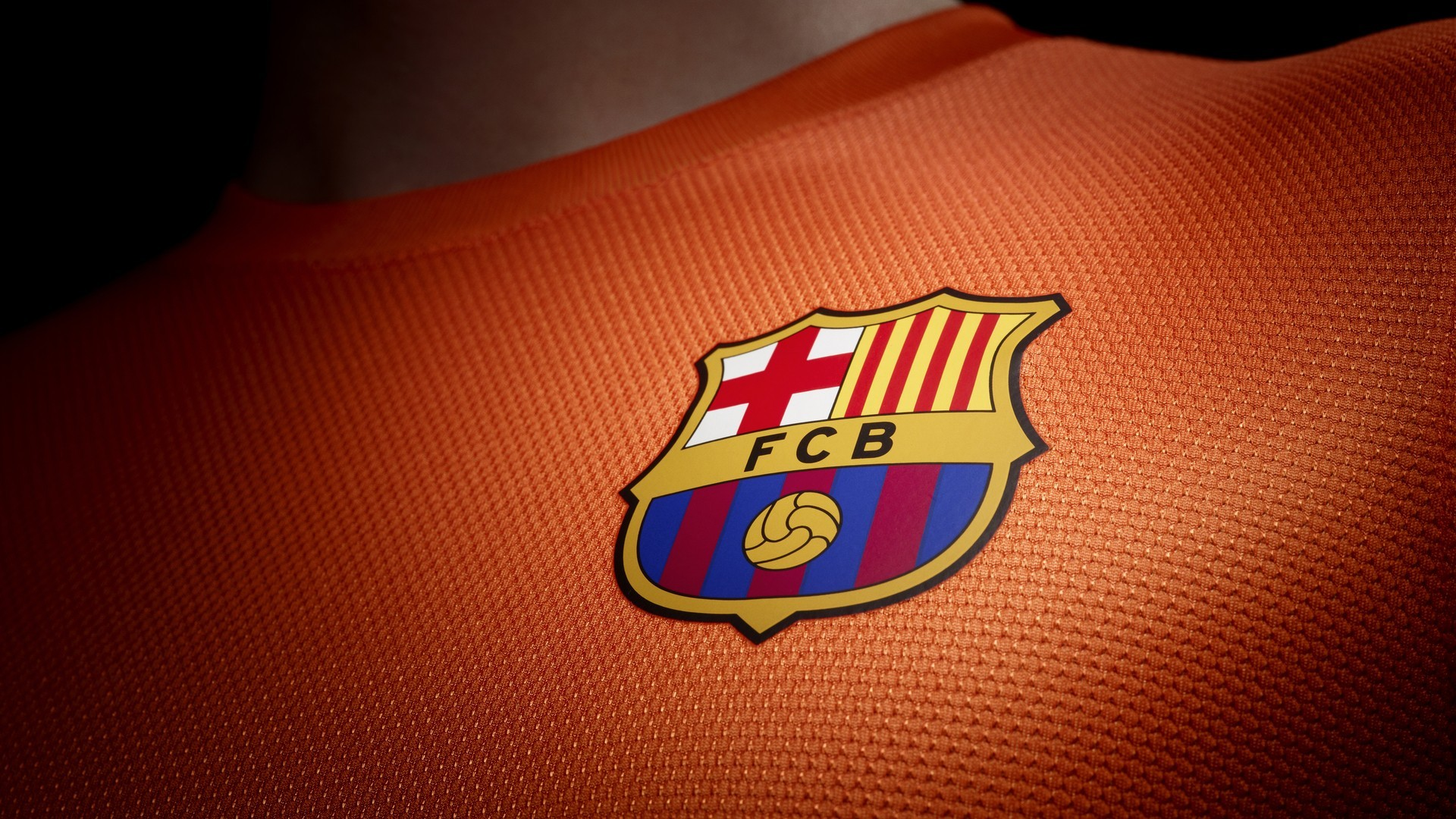 1920x1080 Barcelona Wallpaper Logo Away jersey.