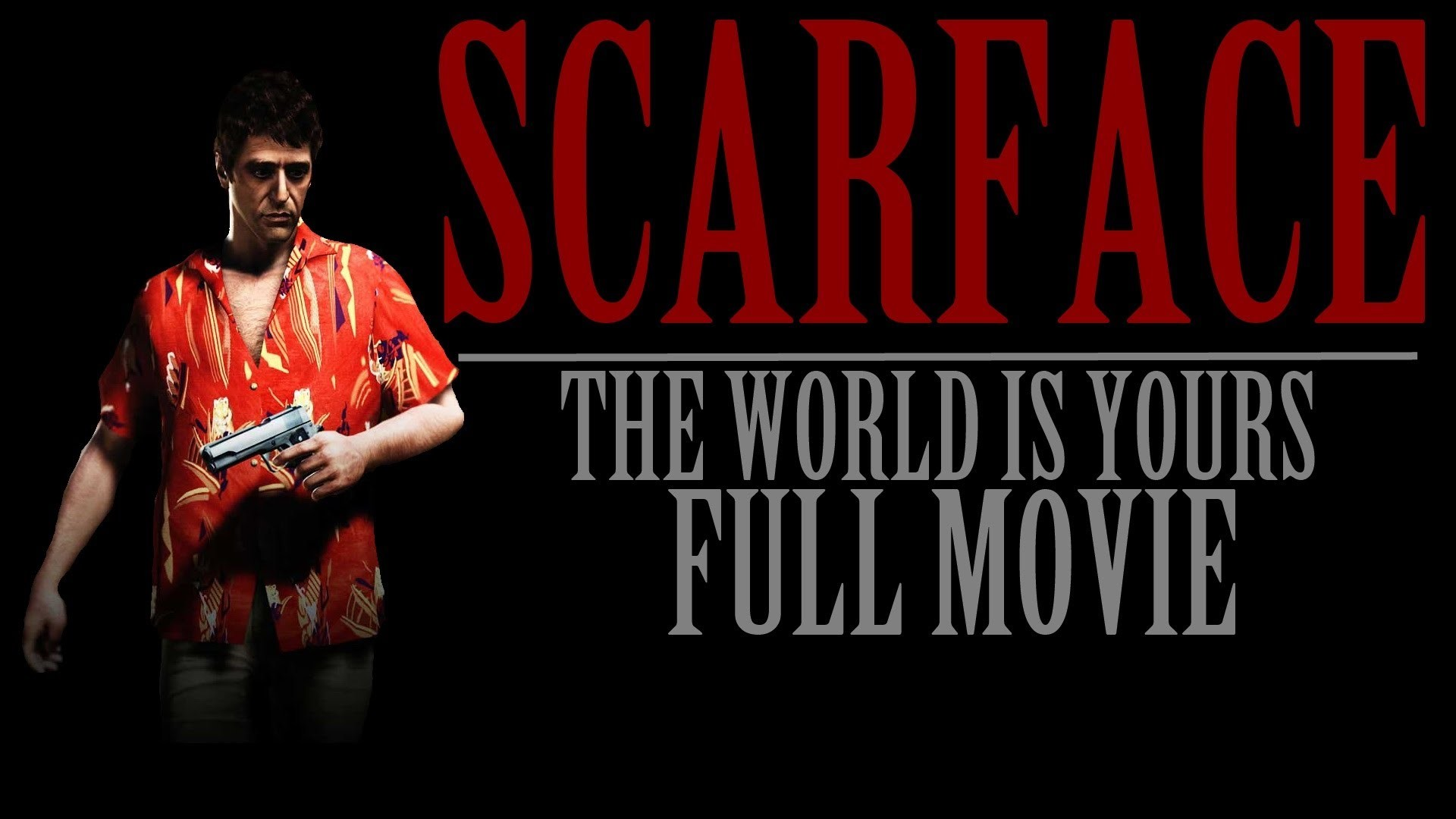 1920x1080 Scarface The World Is Yours: Full Movie (All Game Cutscenes) HD - YouTube