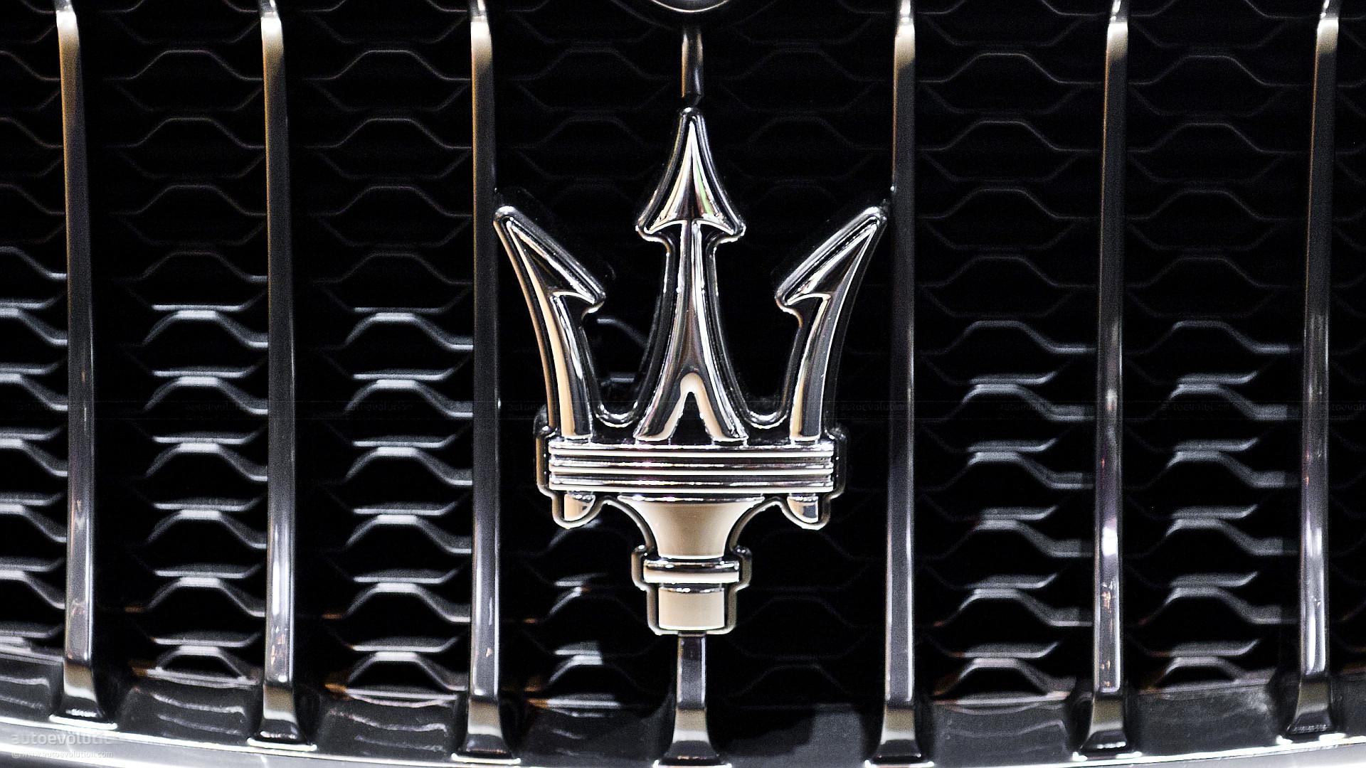 Maserati car logo wallpaper hd
