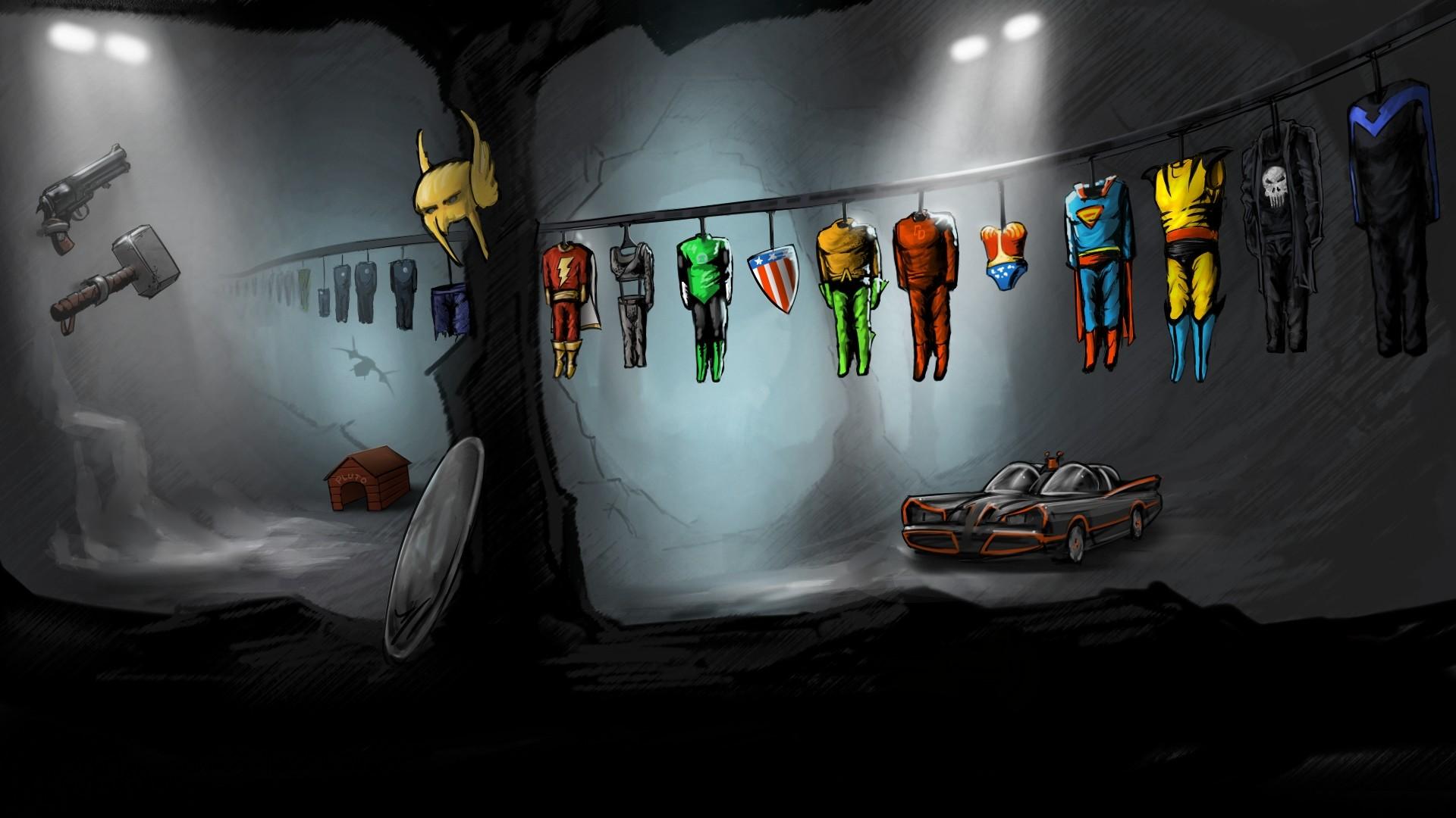 1920x1080 Marvel Superheroes Wallpaper 21944