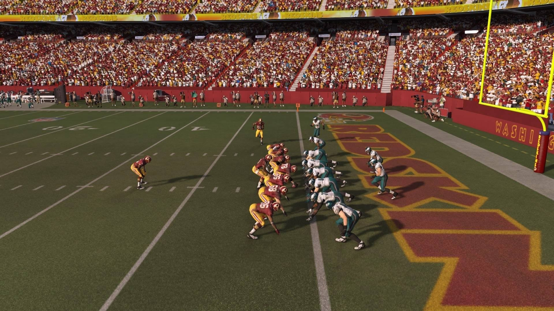 1920x1080 NFL 2014 Week 16 - Philadelphia Eagles vs Washington Redskins - 2nd Half -  Madden 15 PS4 - HD