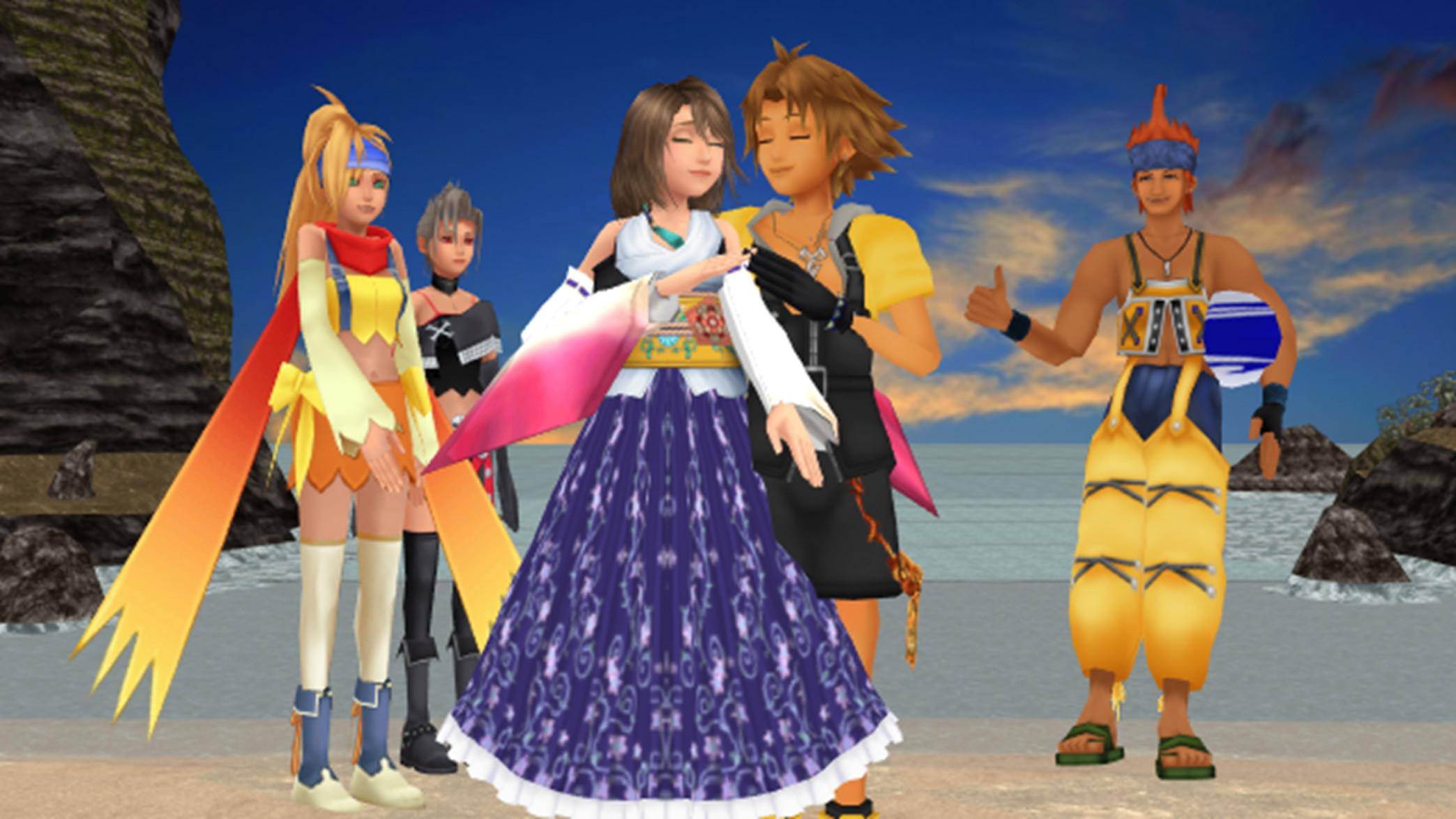 2088x1175 Yuna & Tidus images Final Fantasy X 1 and 2 Romances Perfect Love.. HD  wallpaper and background photos