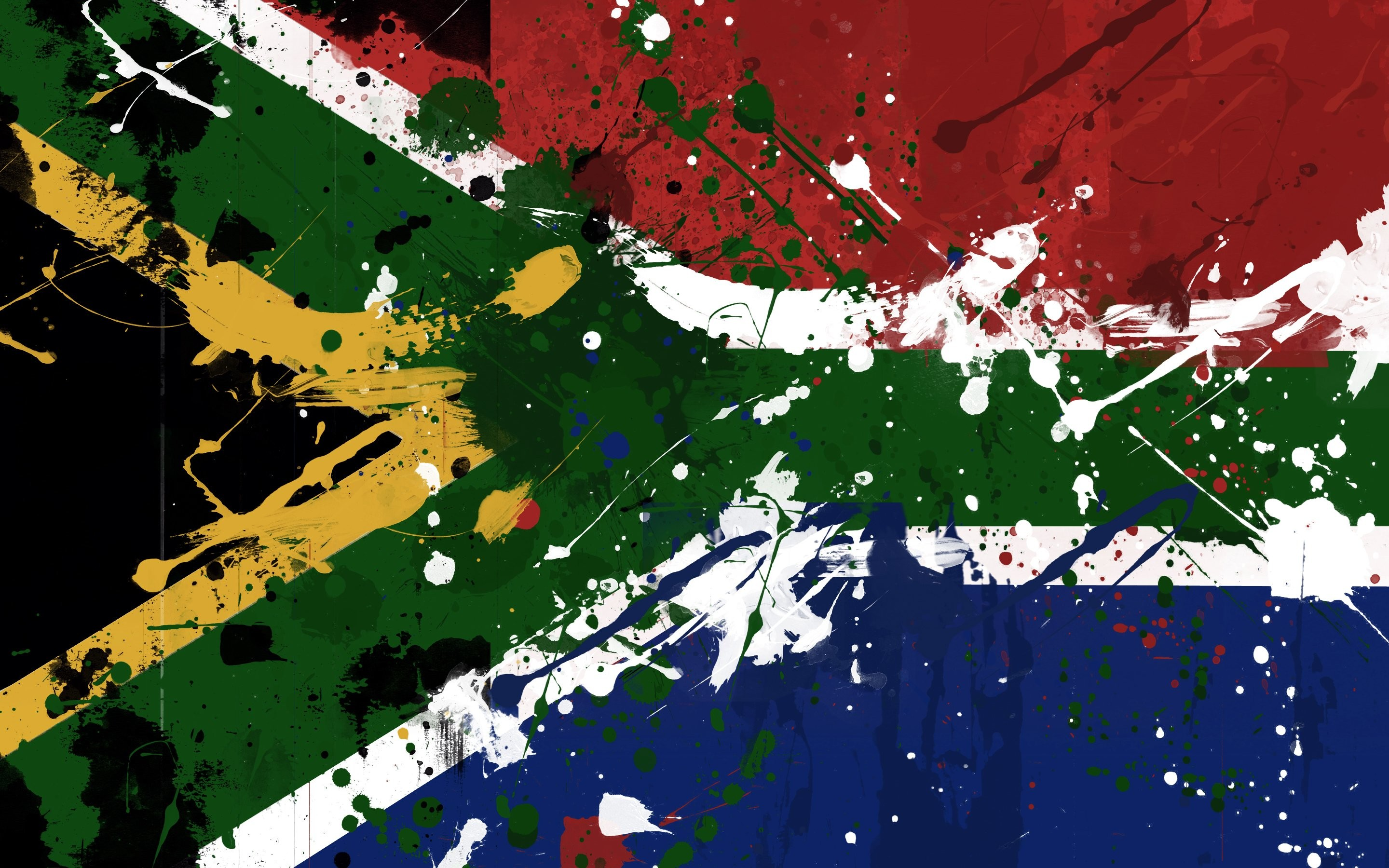 2880x1800 South African Flag 695940