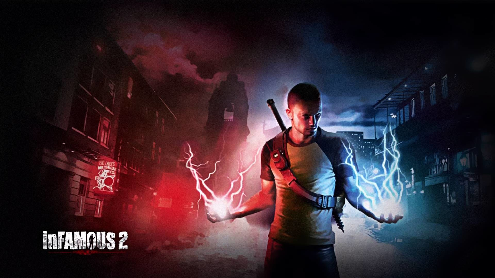 1920x1080 Wallpapers For > Infamous 2 Wallpaper Hd