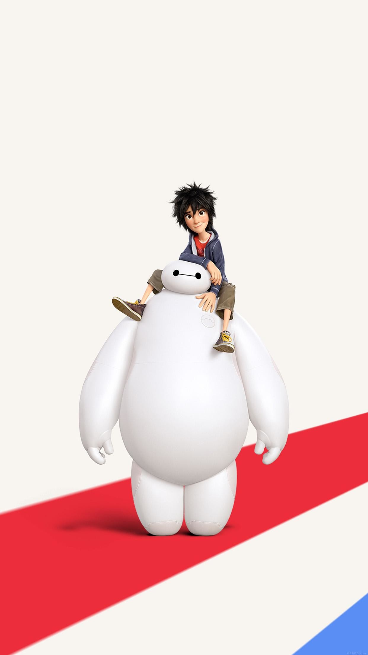 1242x2208 Big Hero 6 Cute Disney Art Illust