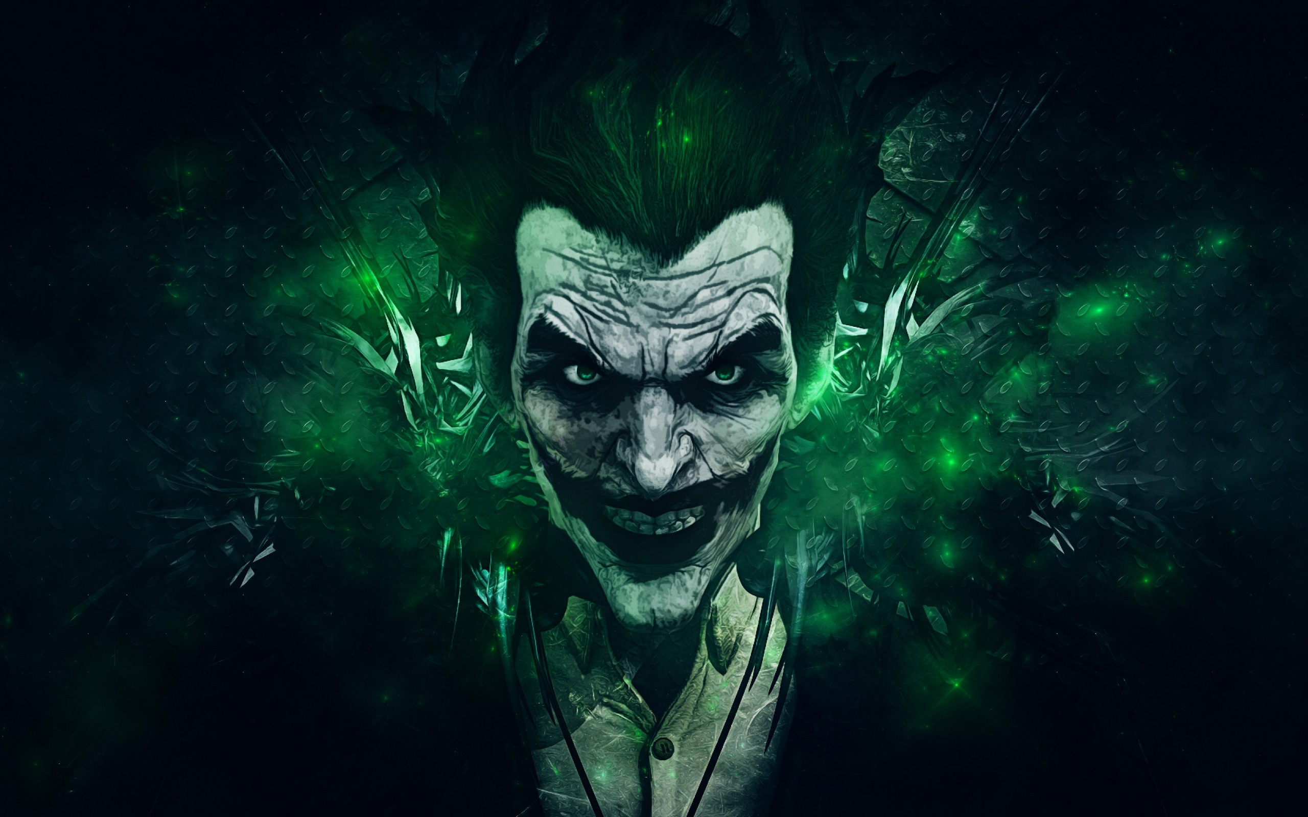 2560x1600  Wallpaper batman arkham origins, joker, games montreal,  rocksteady studios
