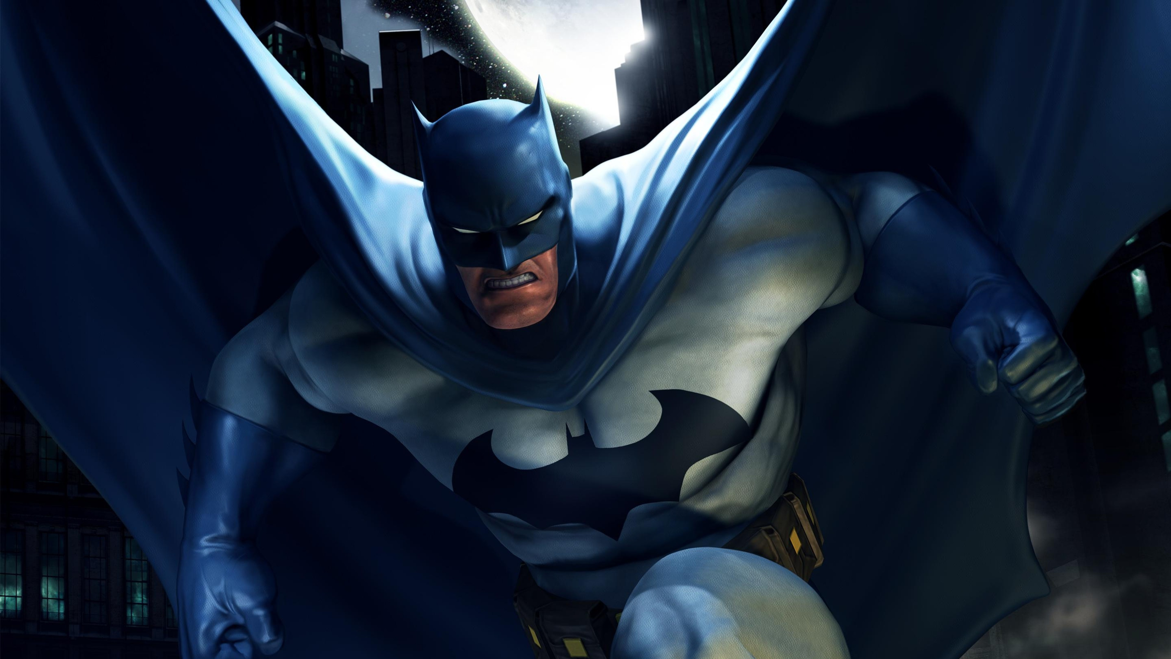3840x2160 Preview wallpaper batman, superhero, dc comics