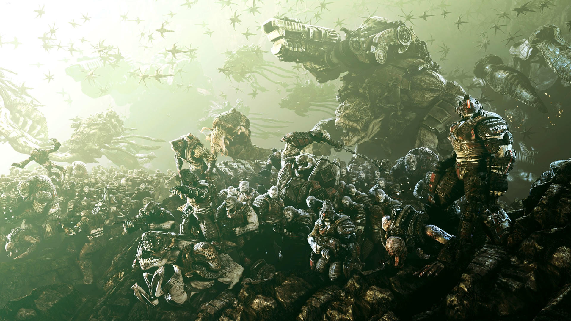 1920x1080 Wallpapers Gears of War 3 HD - Taringa!