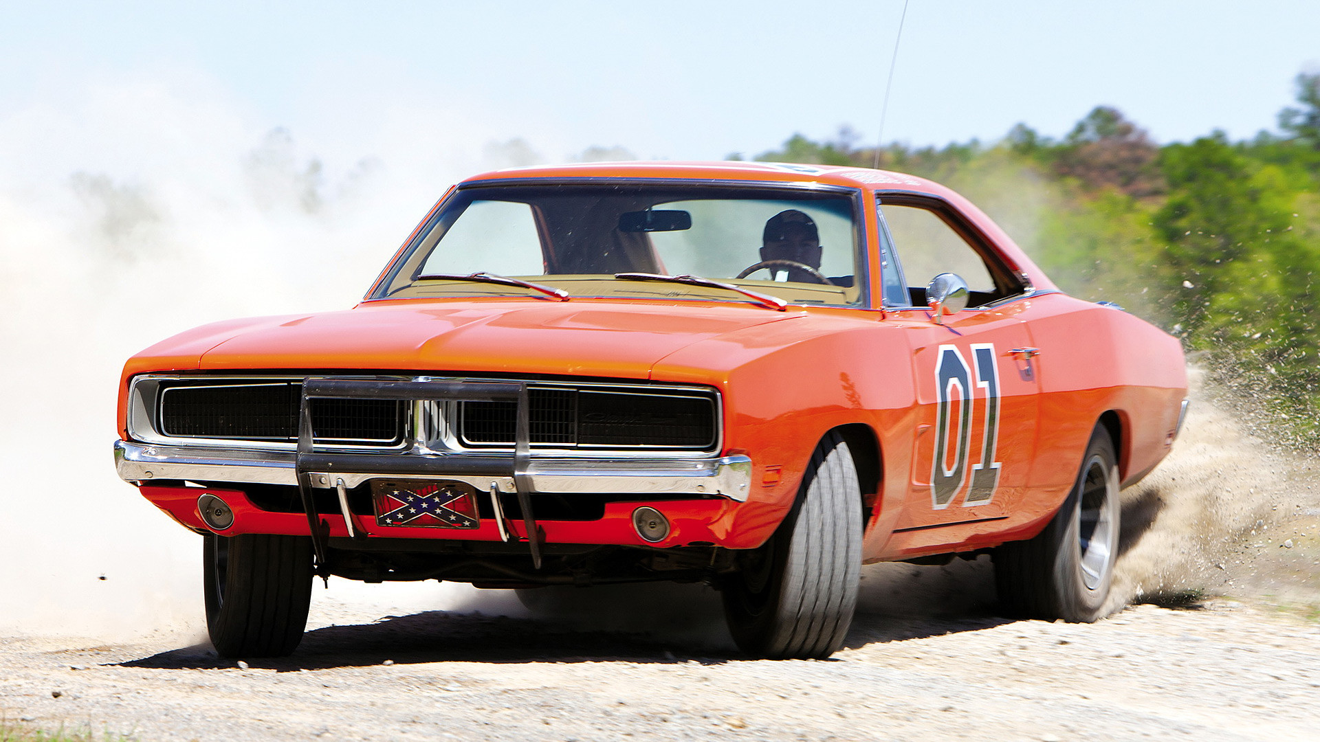 1920x1080 1969 Dodge Charger General Lee picture