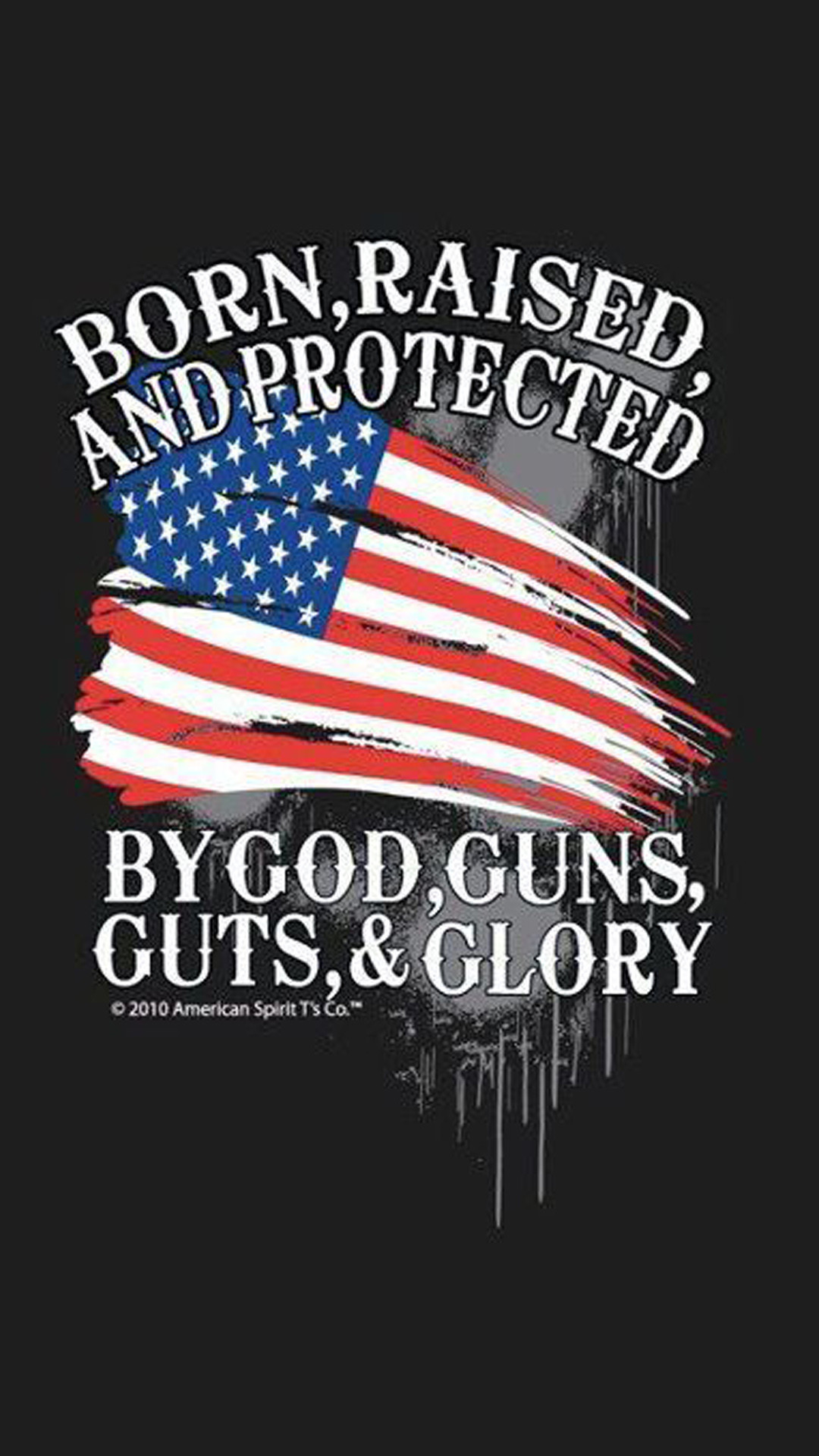 Tactical American Flag Wallpaper