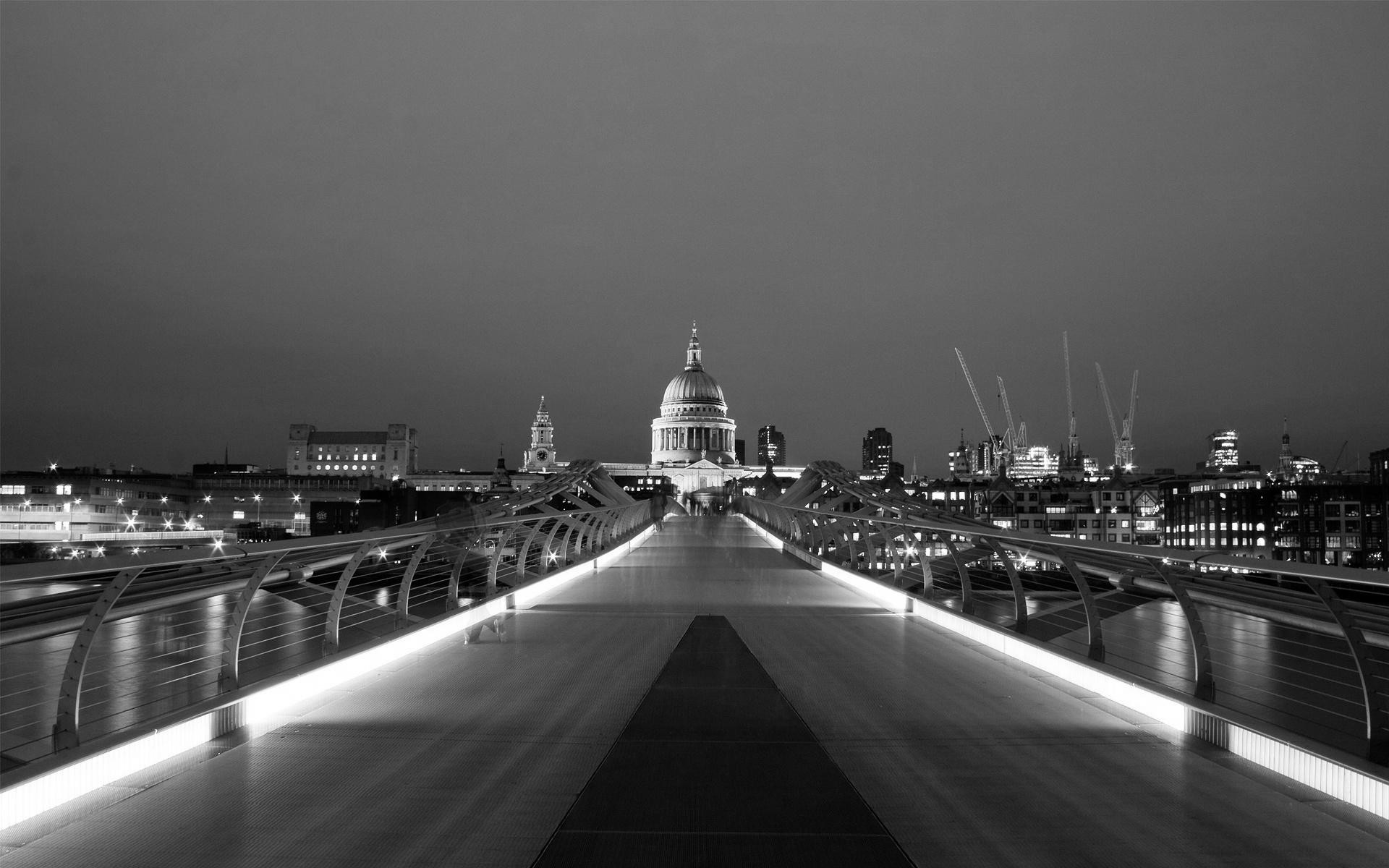 London Skyline With Gray Buildings Isolated On White ... |London Skyline Wallpaper Black White