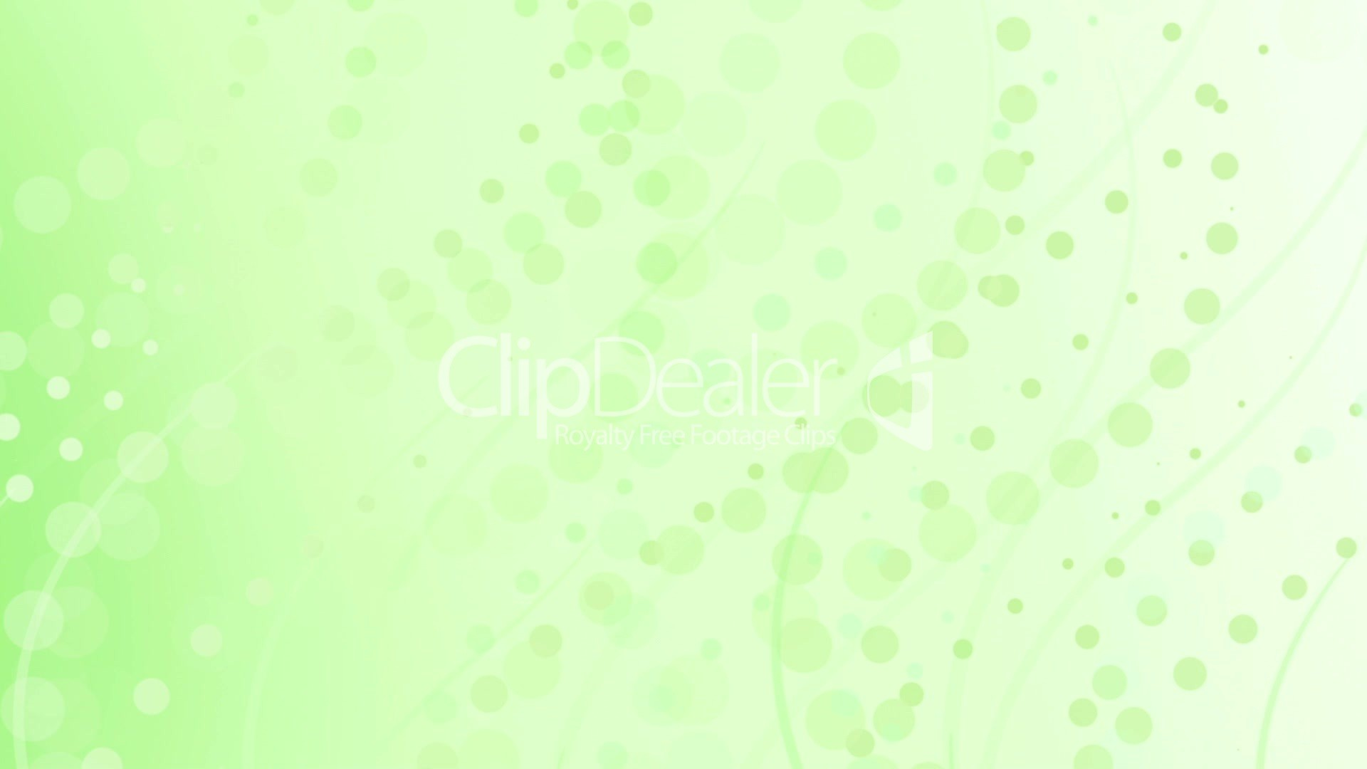 1920x1080 Clips. pale lime green curves and circles abstract background ...