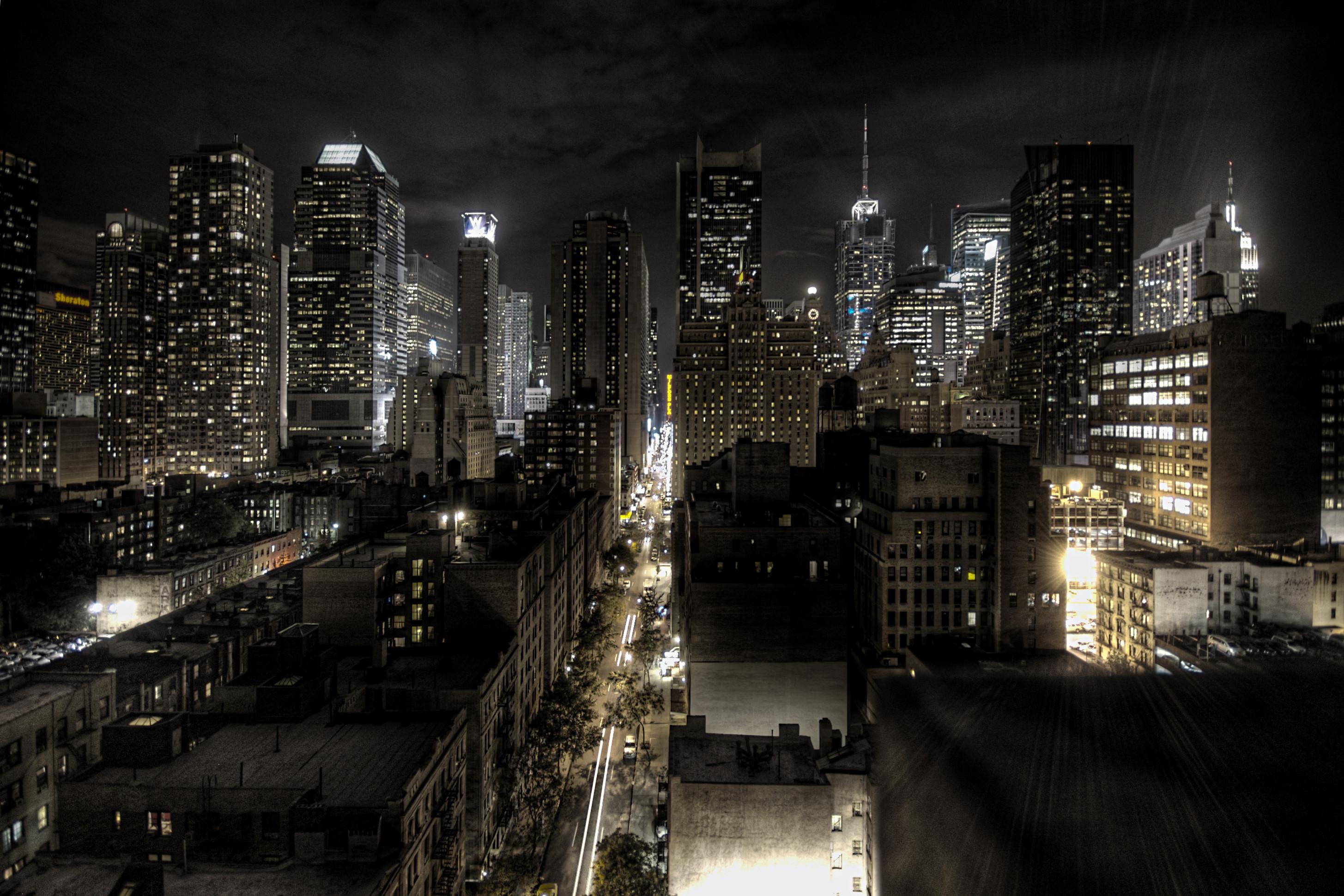 2048x2048 Preview Wallpaper Brooklyn Bridge New York City Nyc Usa Manhattan East