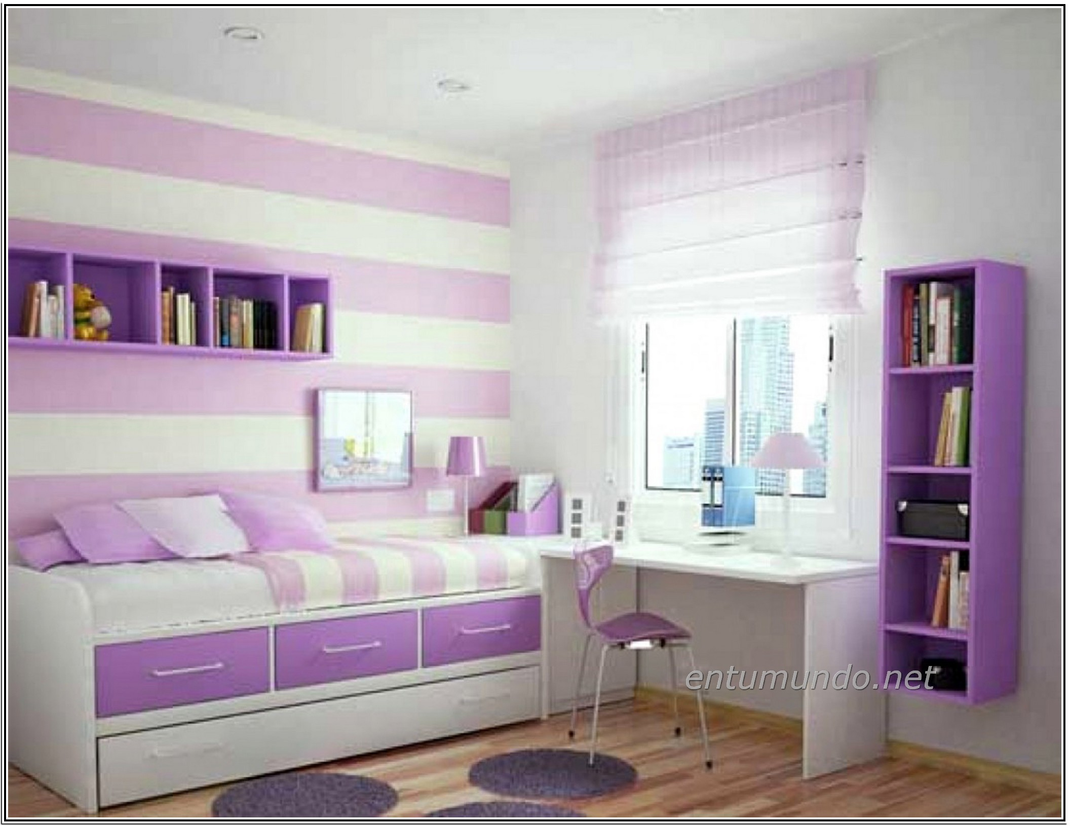 Wallpaper for Tween Girls (29+ images) on Teenager Beds For Small Rooms  id=82456