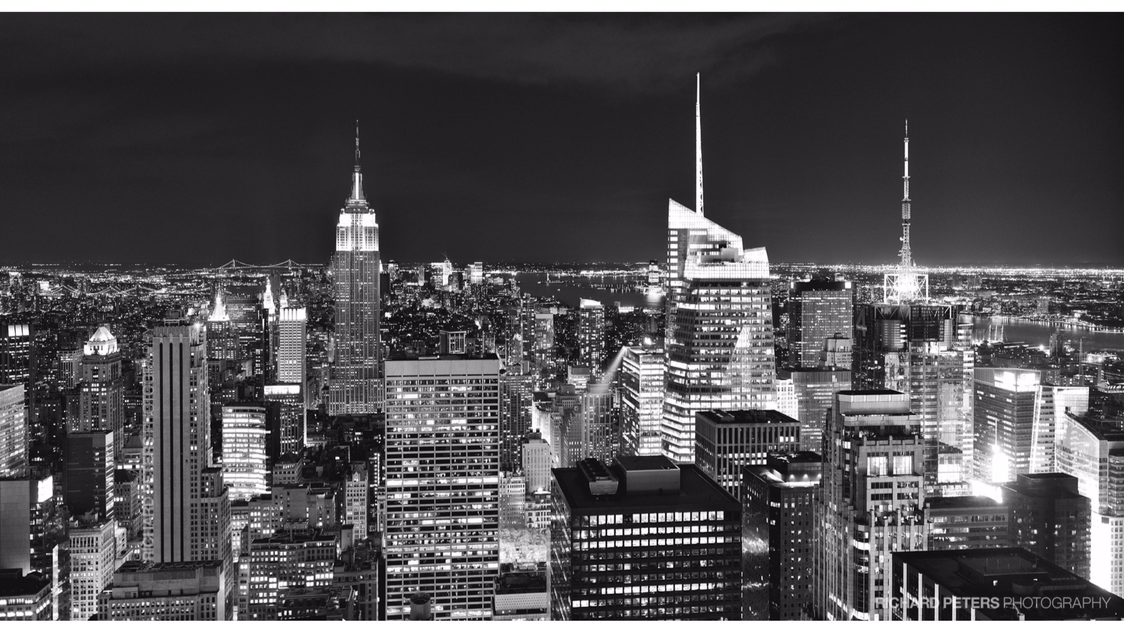 3840x2160 Black and White Nyc Skyline Wallpaper Magnificent New New York City Black  and White Wallpaper •