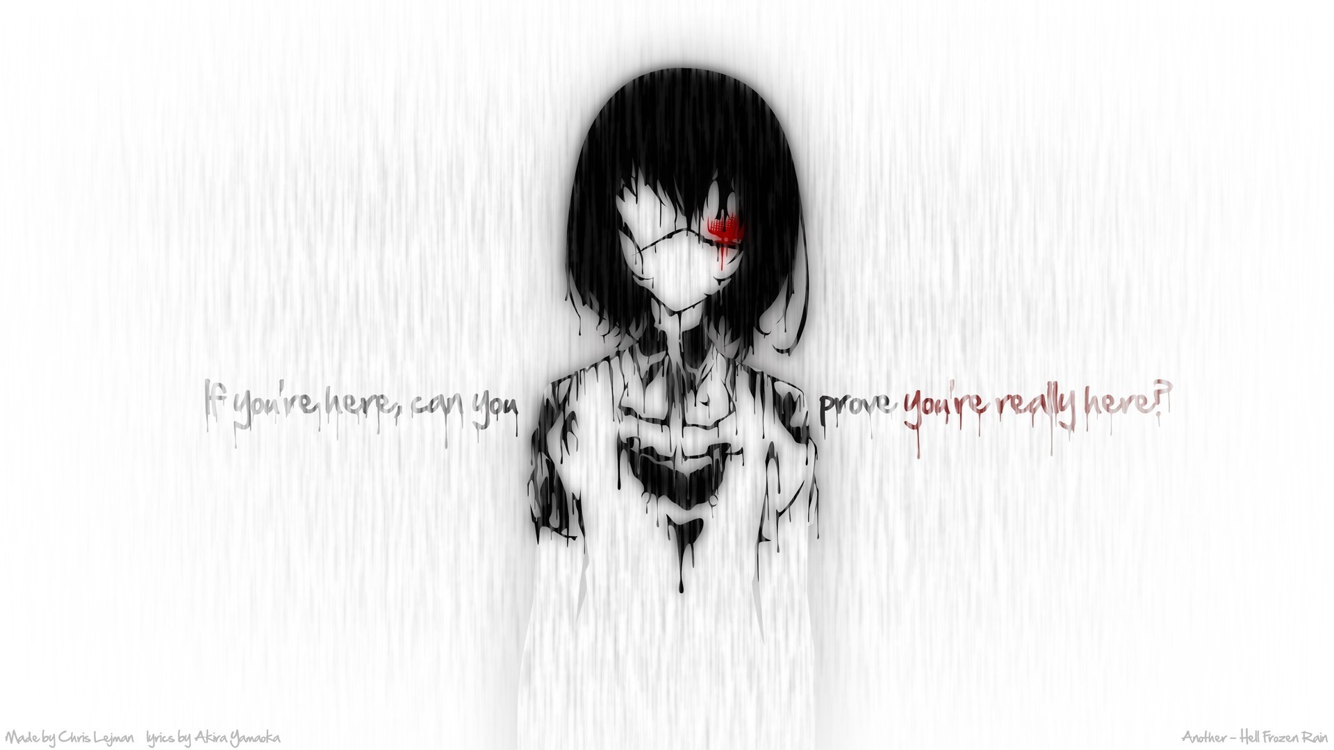 Creepy anime wallpaper 58 images - Another anime hd wallpaper ...