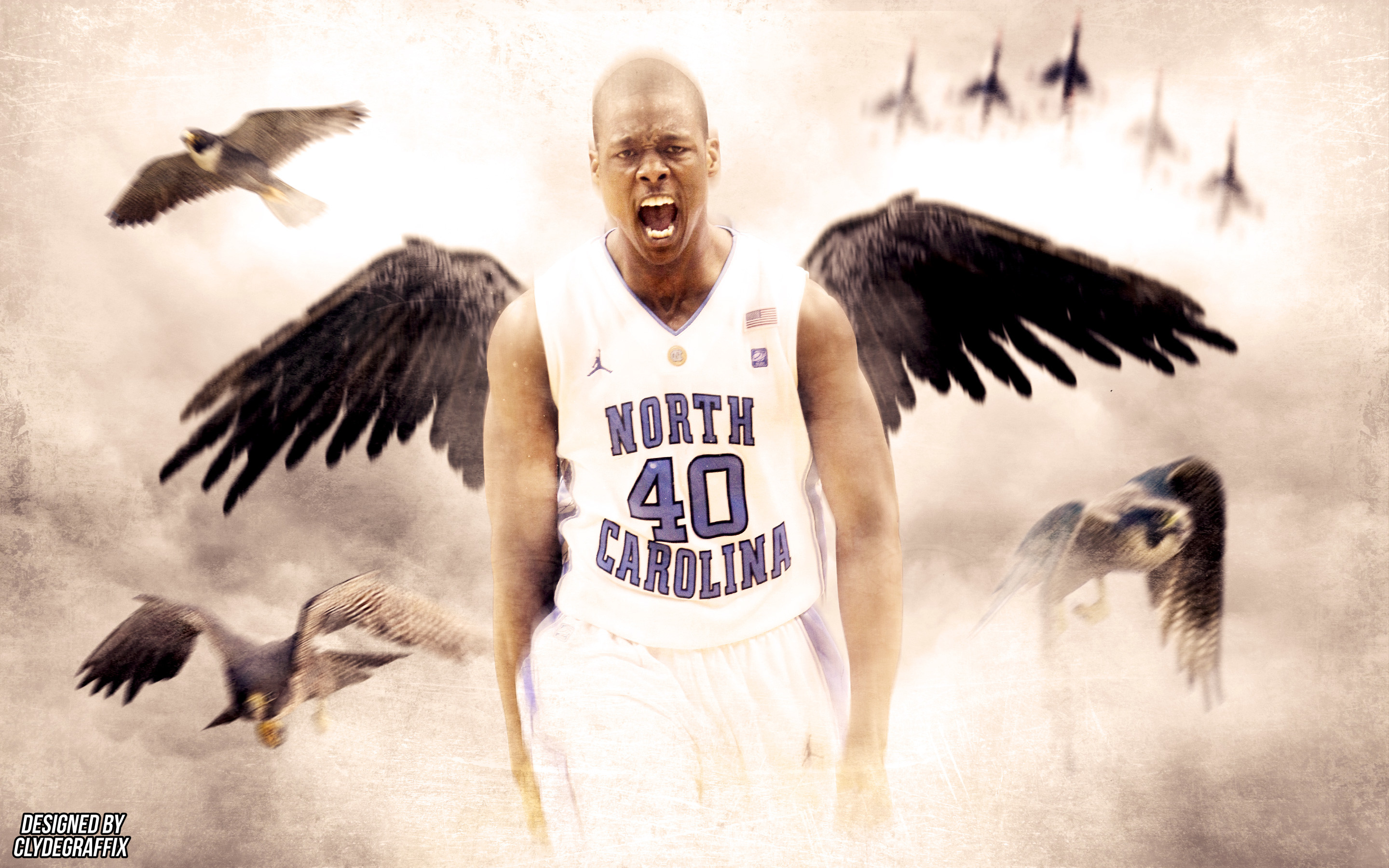 2880x1800 Harrison Barnes North Carolina Tar Heels Wallpaper