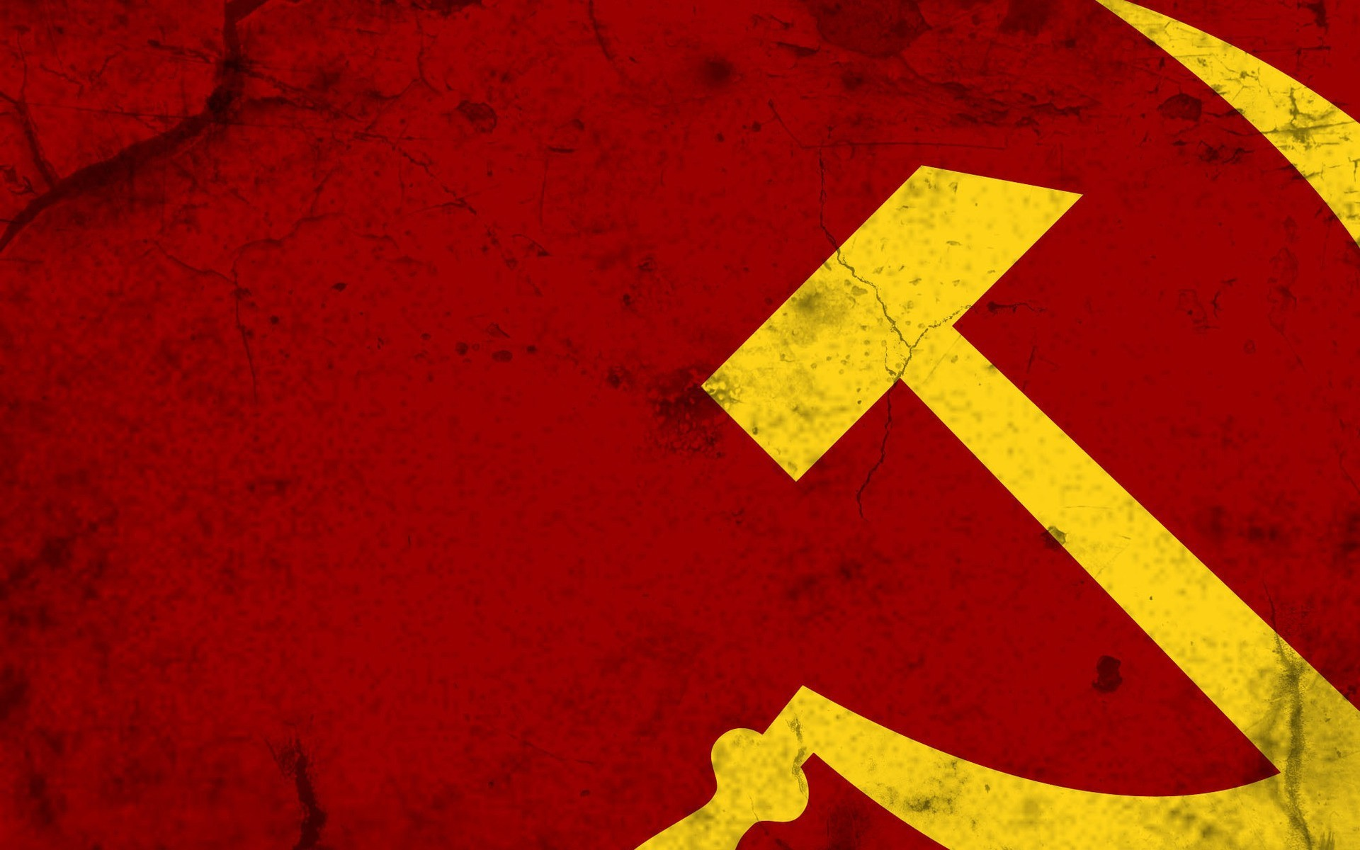 1920x1200 Wallpaper Hammer and sickle, Soviet union, Russia, Symbols