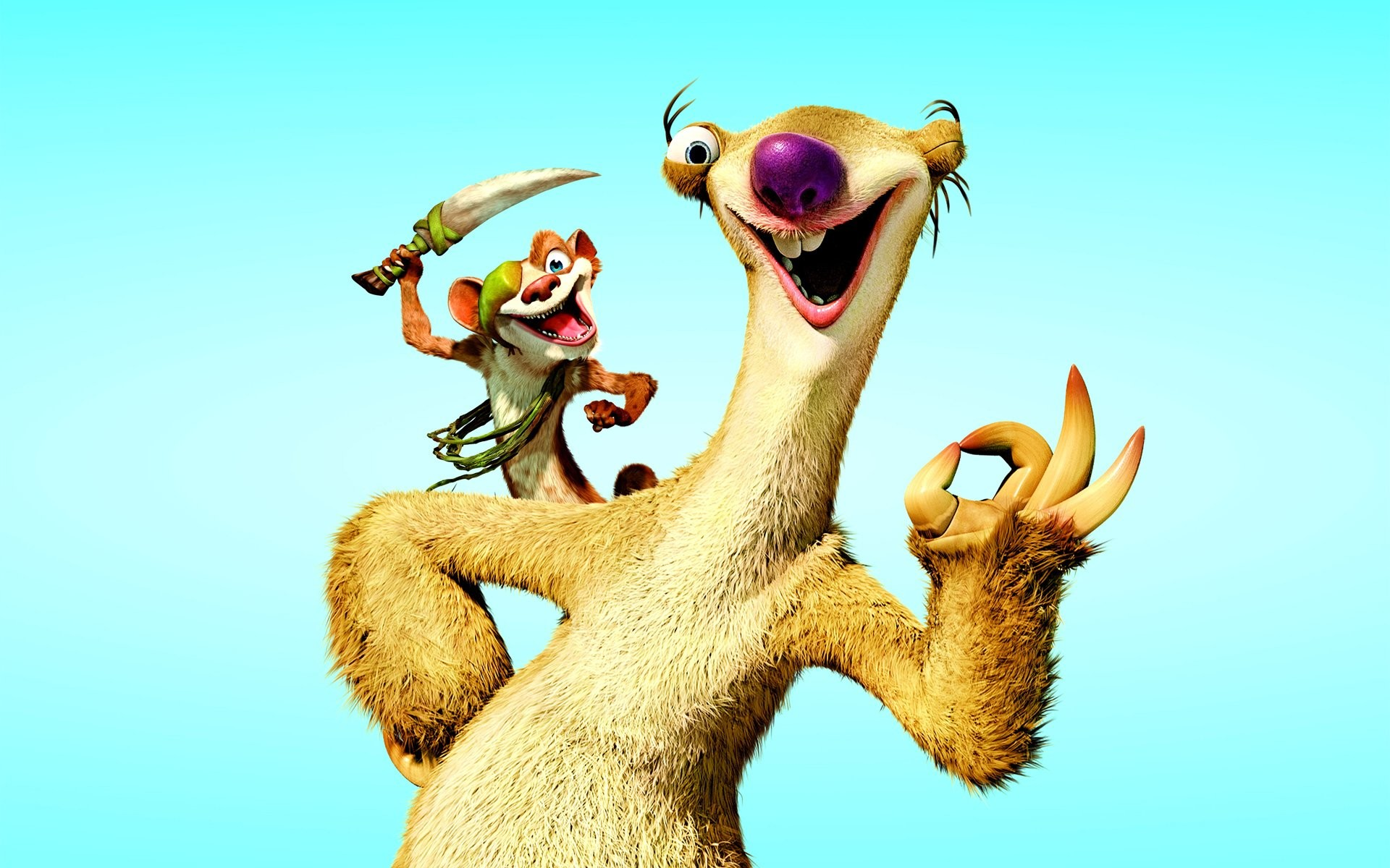1920x1200 Movie - Ice Age: Continental Drift Sid (Ice Age) Wallpaper