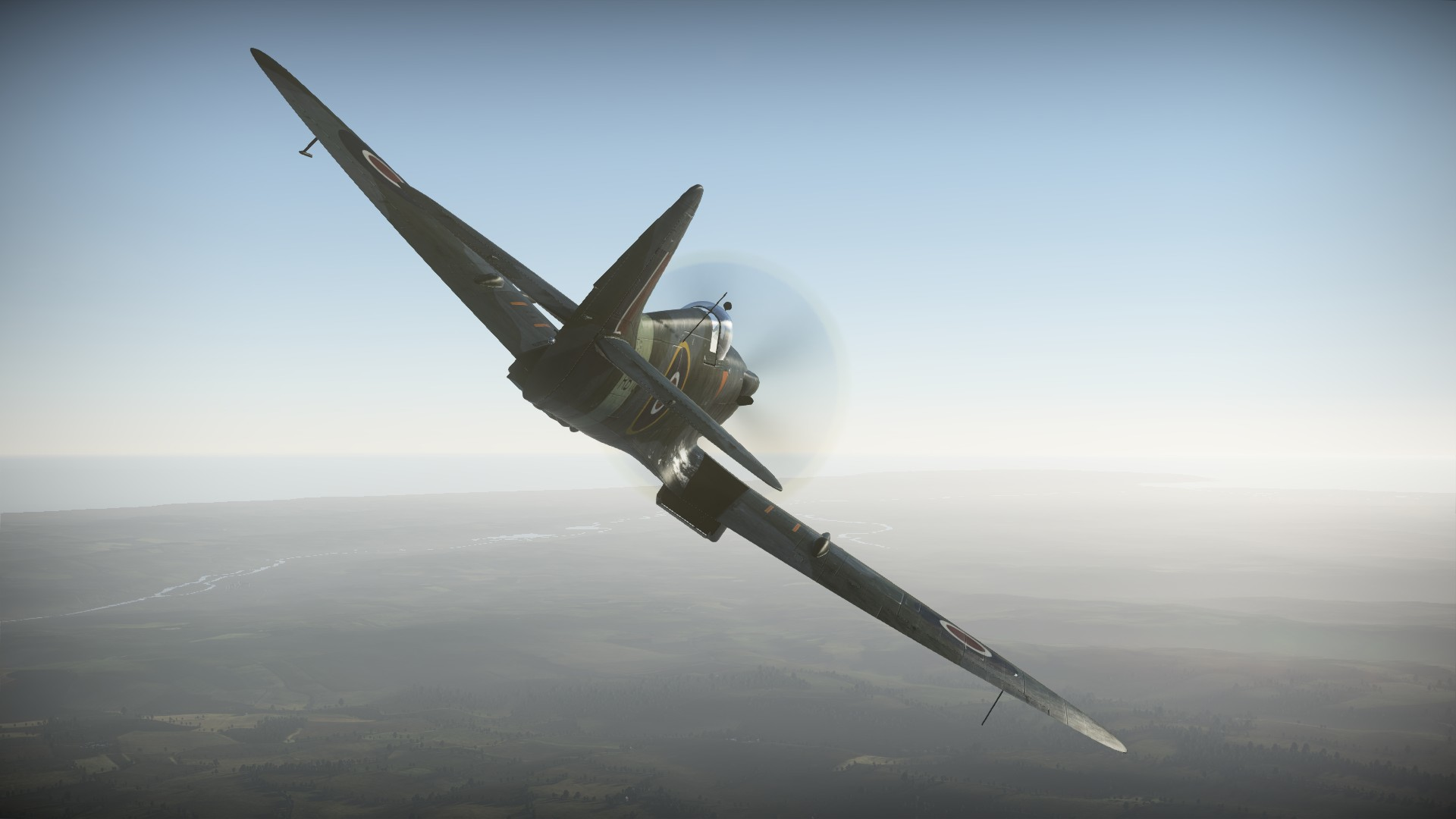 1920x1080 [Development]Spitfire Mk.XIVc - War Thunder