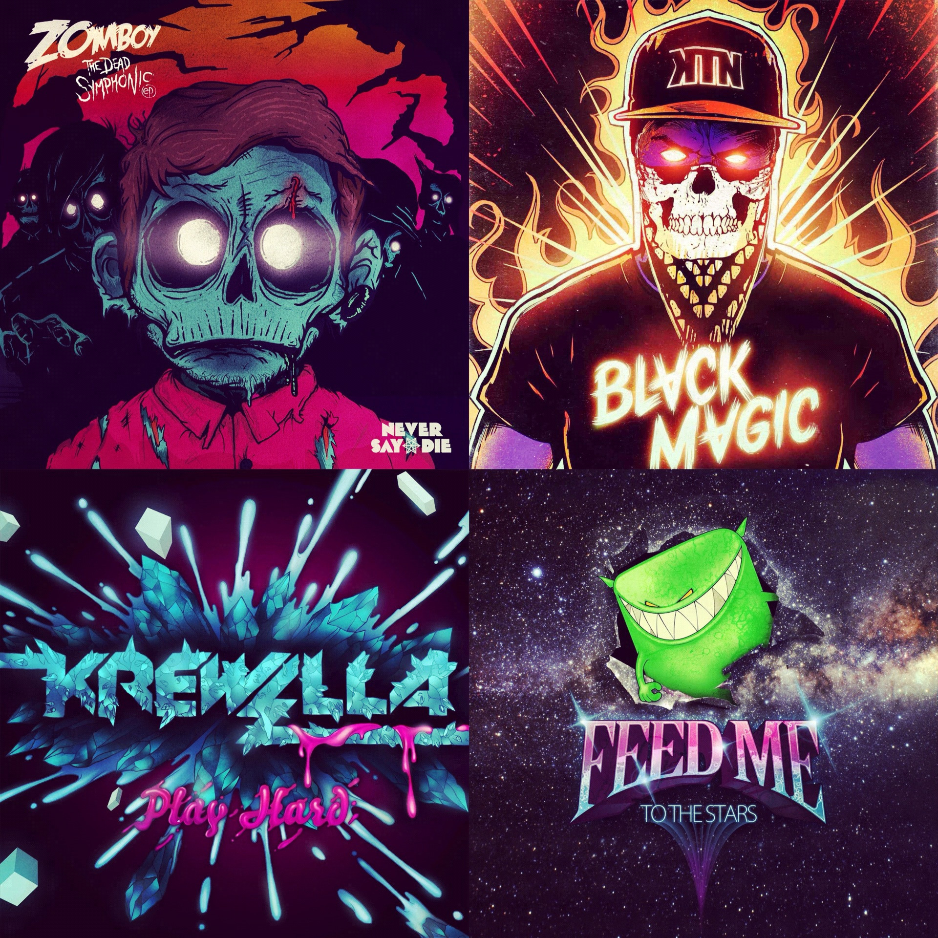 Zomboy wallpaper iphone