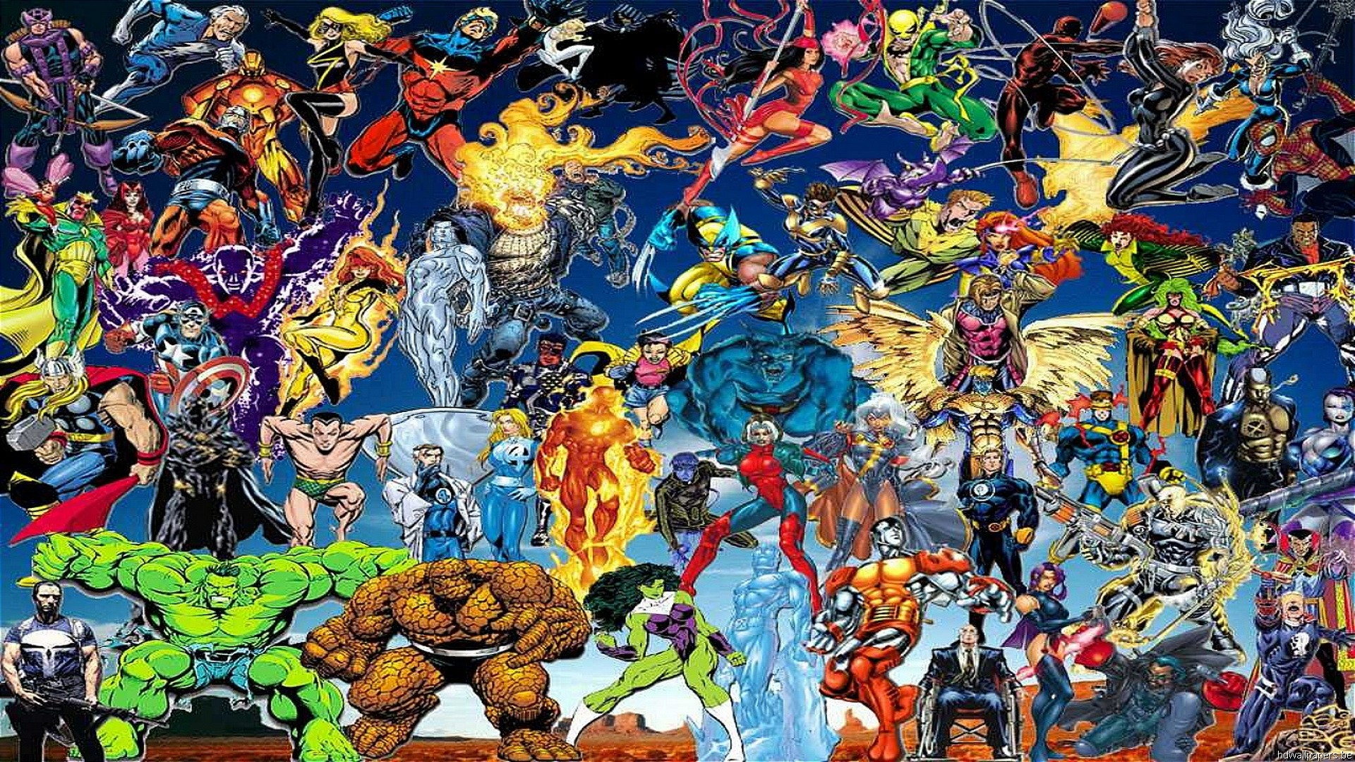 All marvel characters wallpaper 61 images - Dc characters wallpaper hd ...