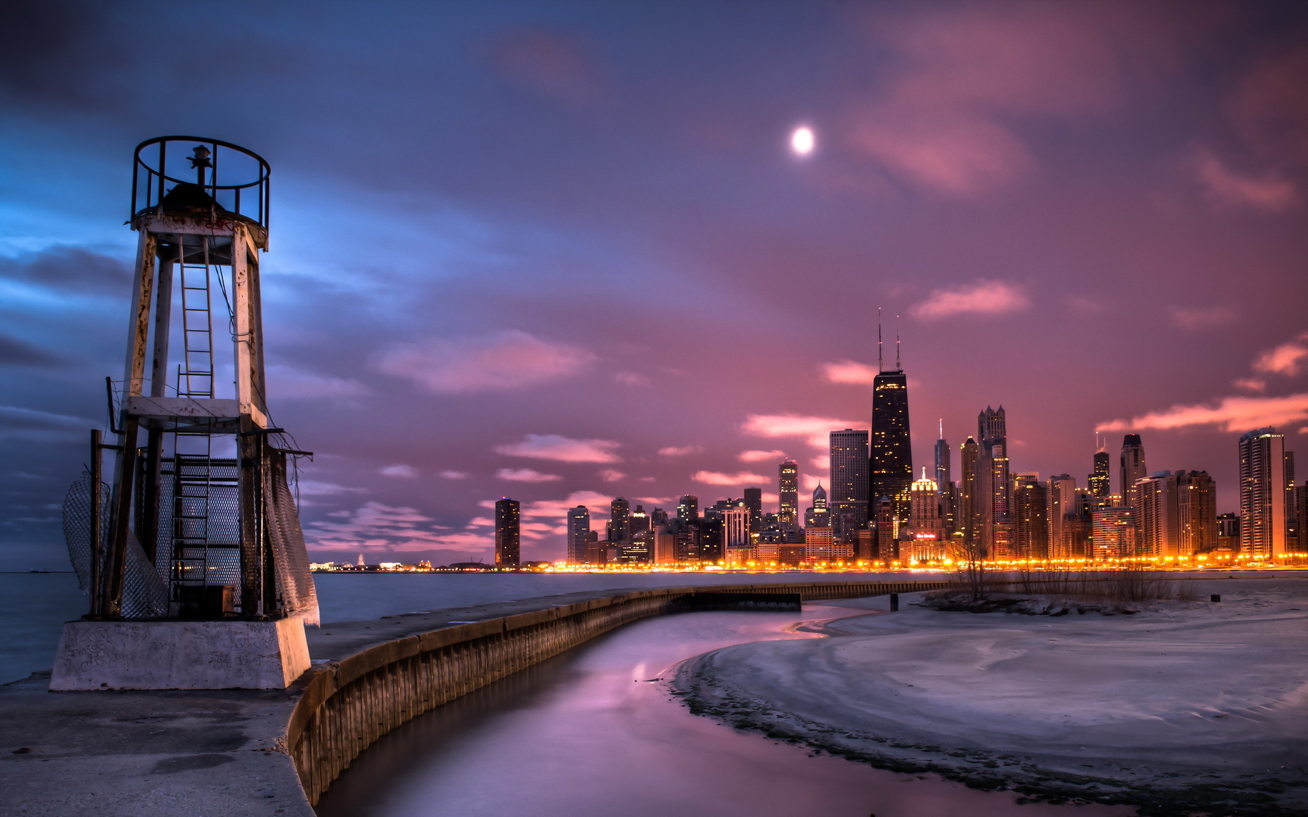 2560x1600 HD Wallpaper | Background ID:370695.  Man Made Chicago