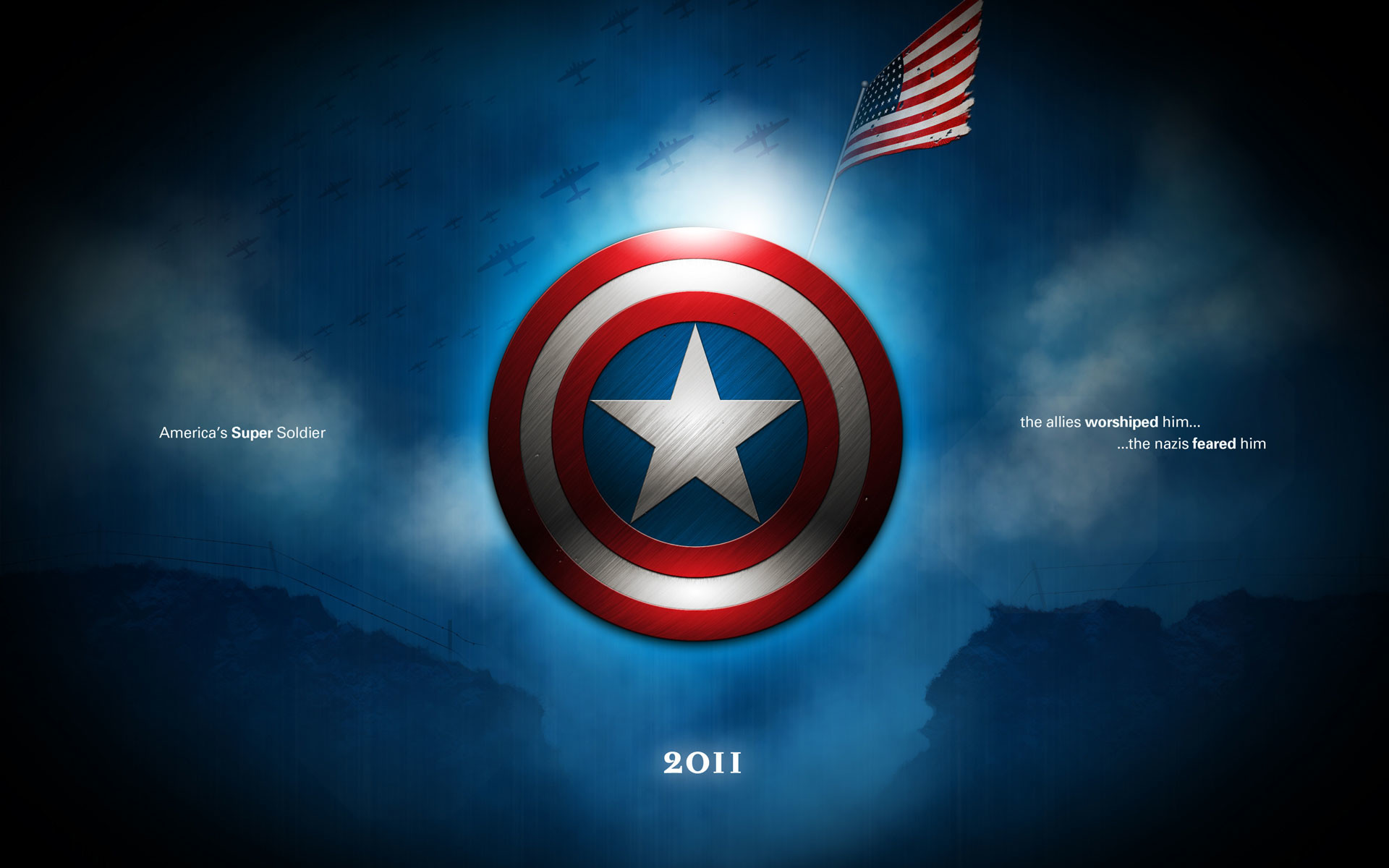 Captain America Shield Fight The Winter Soldier Drawing Marvel wallpaper