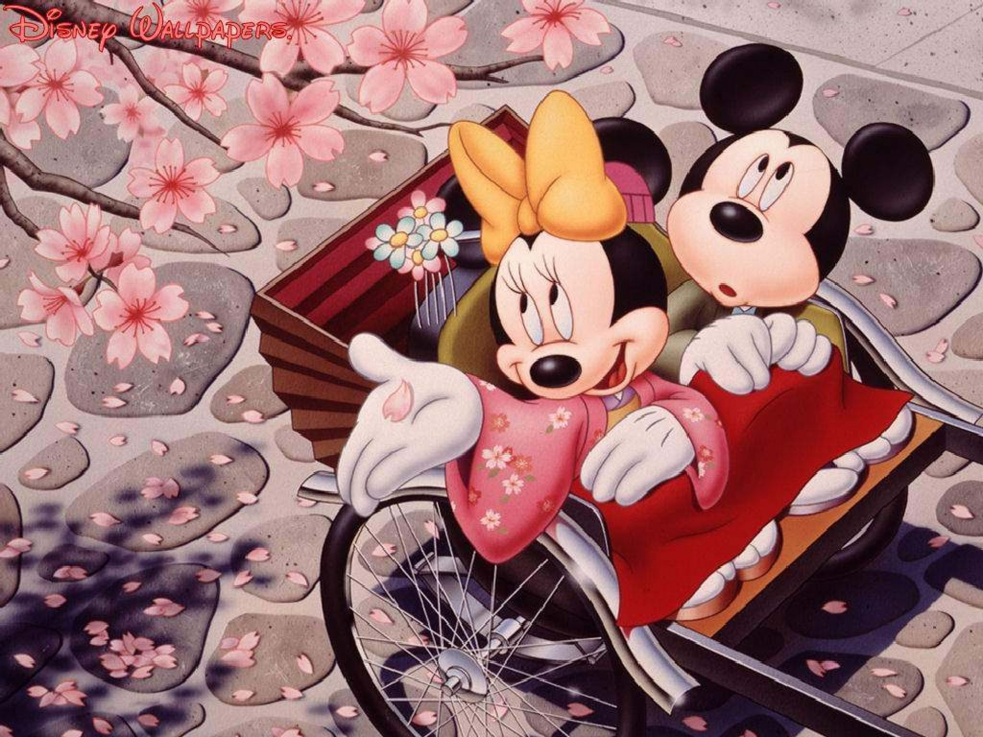 1920x1440 HD Wallpaper and background photos of Mickey and Minnie for fans of Disney  images.