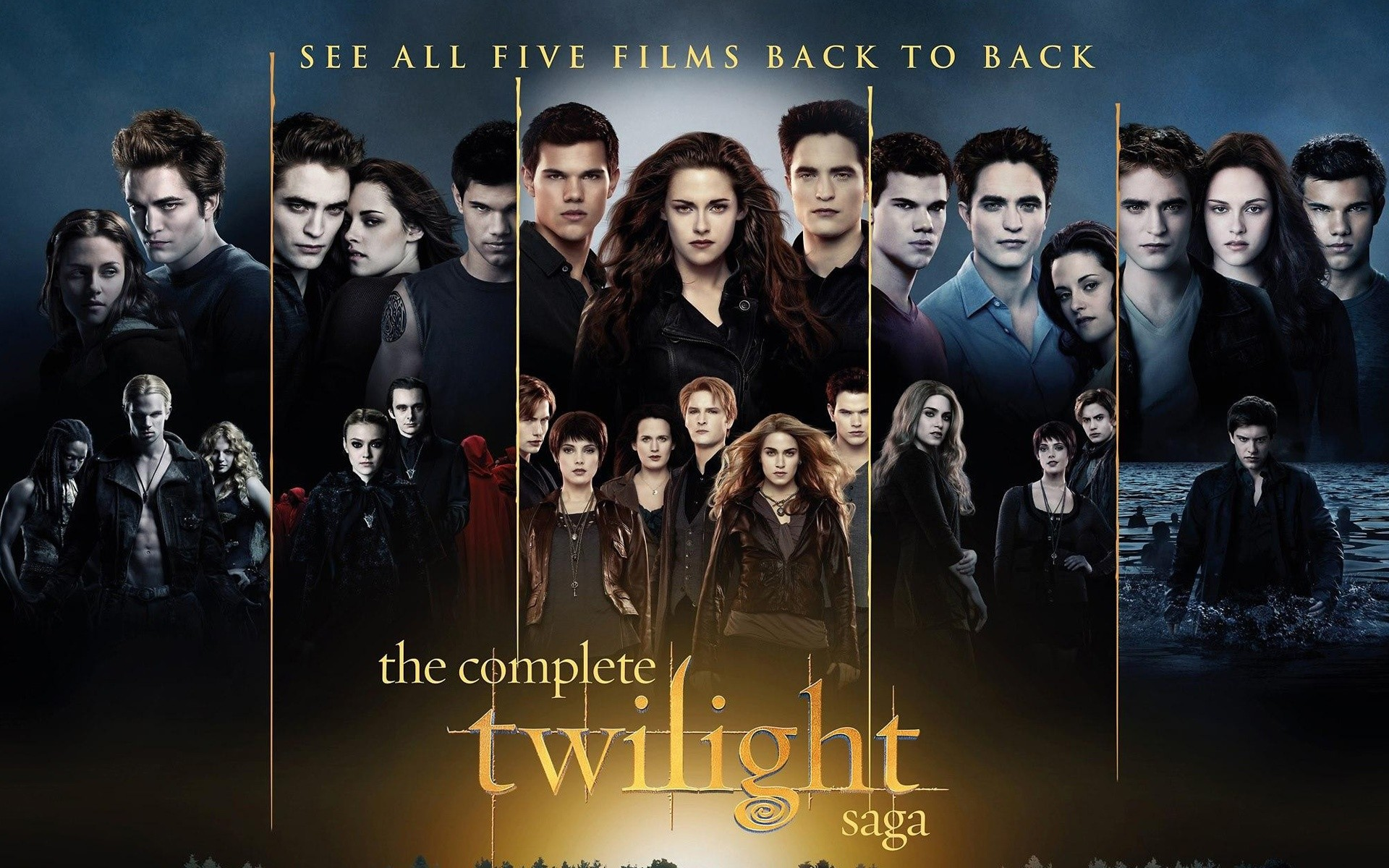 1920x1200 The Complete Twilight Saga Wallpapers