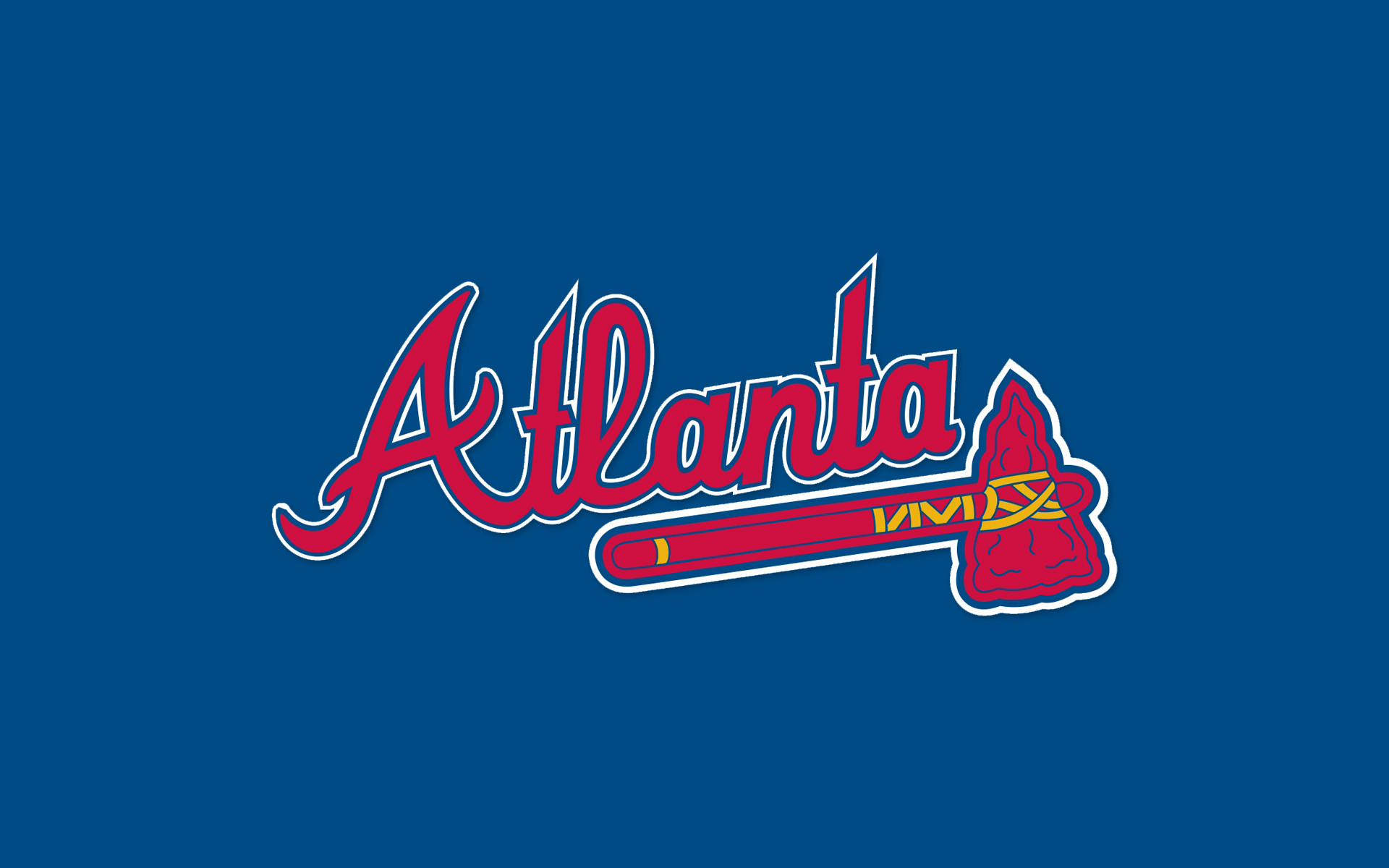 1920x1200 Atlanta Braves Desktop Wallpaper