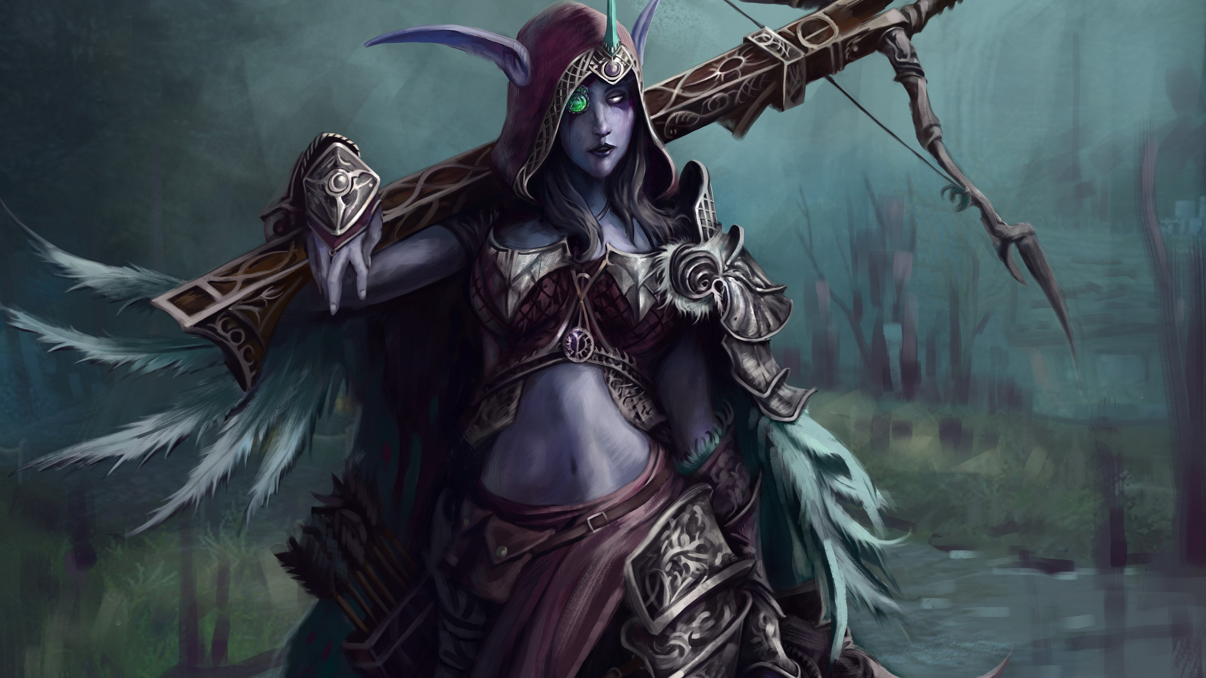 World Of Warcraft Wallpaper Bfa: Sylvanas Windrunner Wallpaper (78+ Images