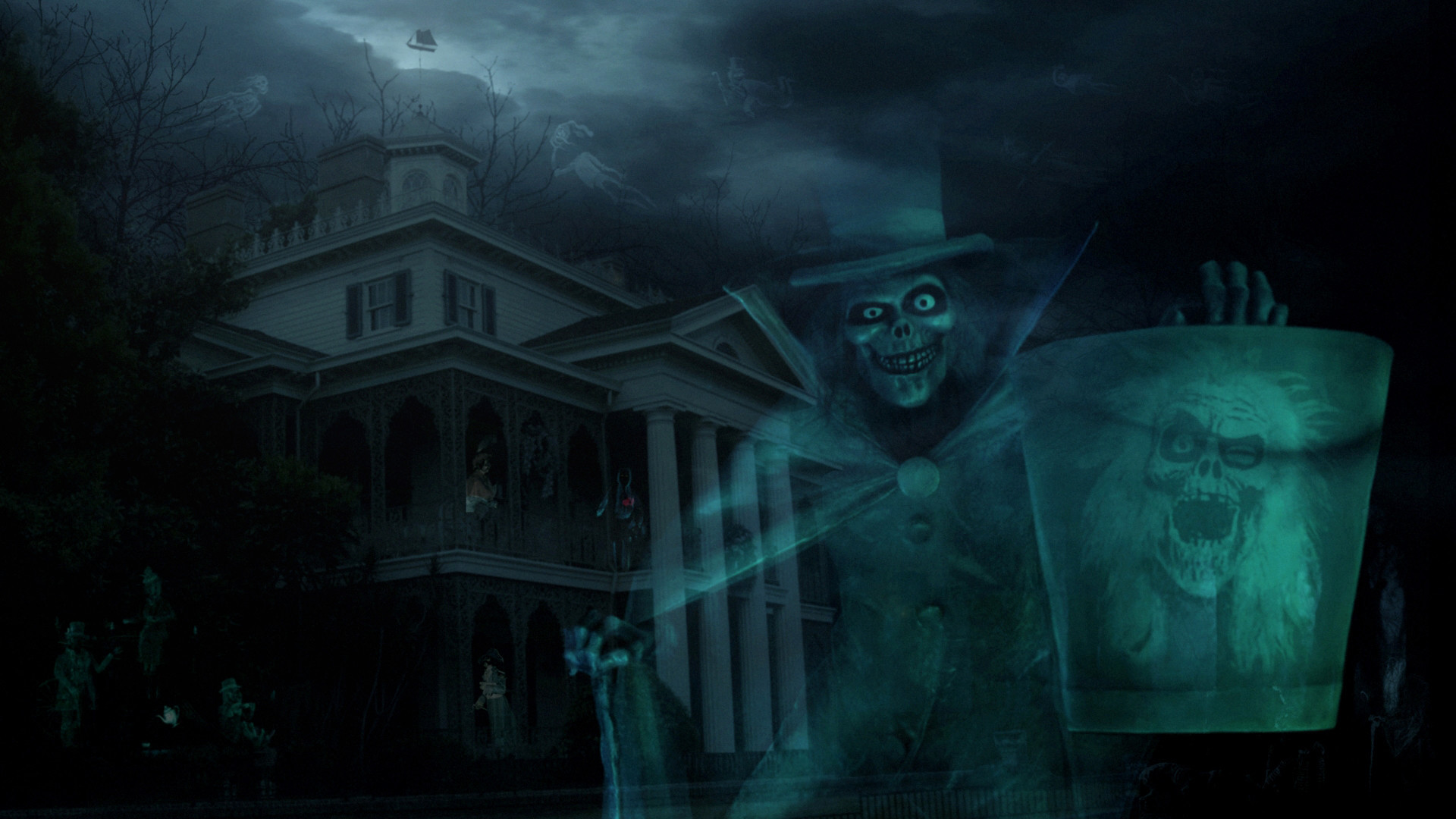 1920x1080 Wallpapers For > Haunted House Wallpapers Hd