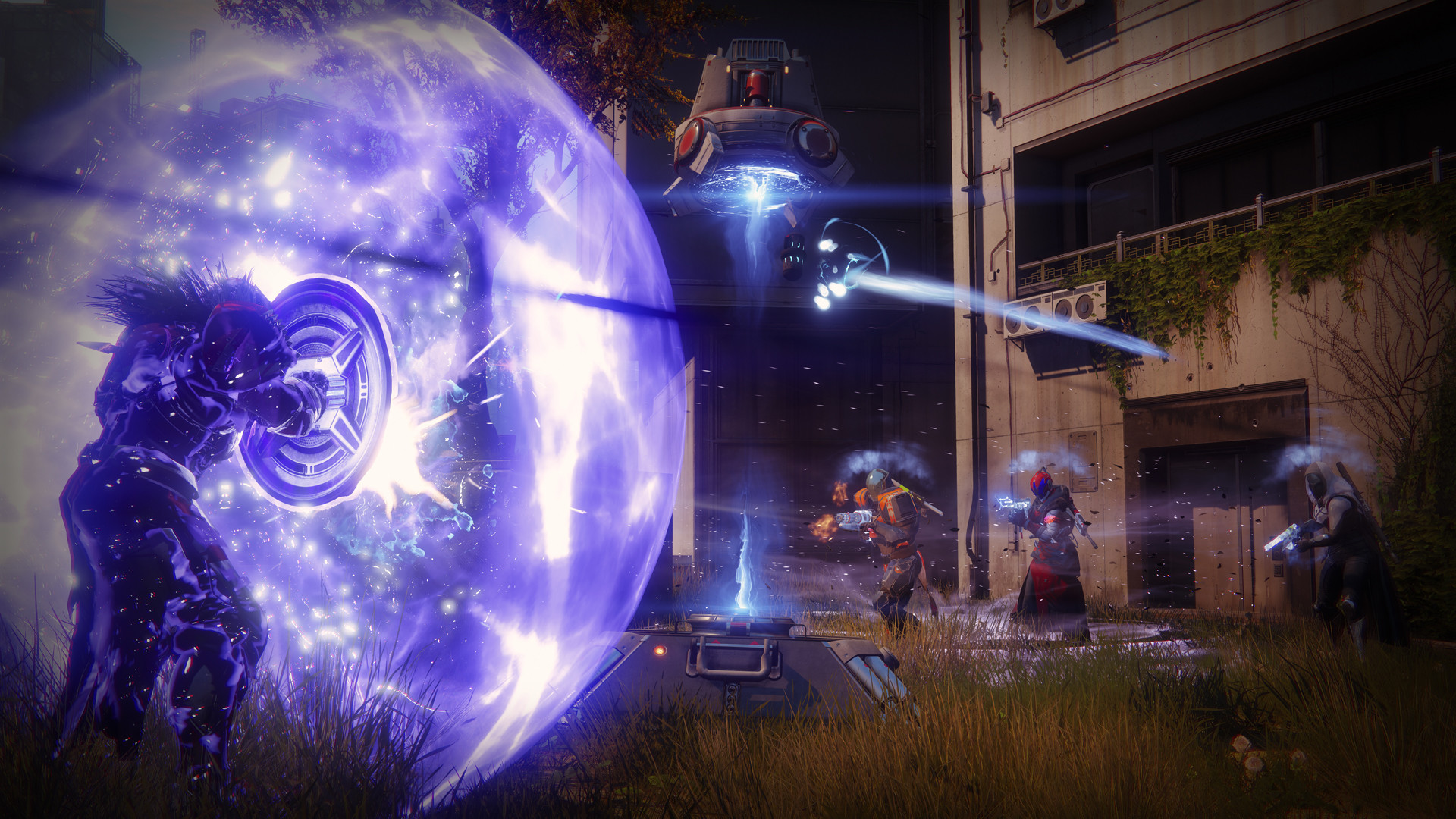 1920x1080 The Sentinel replaces Destiny 1's Defender subclass, and fills a similar  role—the defensive, close-quarters tank archetype. Although the Ward of  Dawn is ...